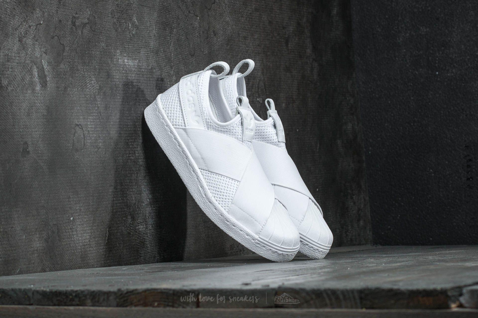 wholesale dealer d0b3f adc00 adidas Superstar SlipOn W Ftw White  Ftw White  Core Black