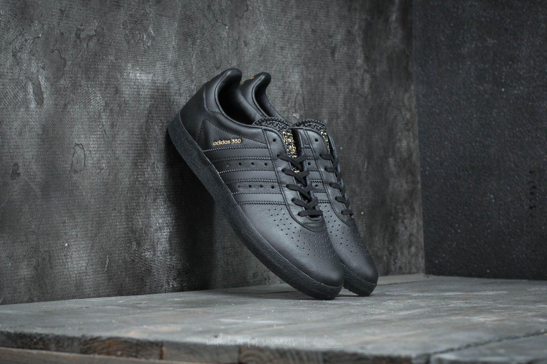 newest 7d9a8 8e025 adidas 350 Core Black Core Black Core Black