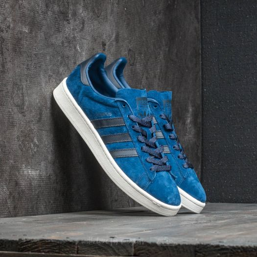 latest new photos official store adidas Campus Mystery Blue/ Night Navy/ Chalk White ...