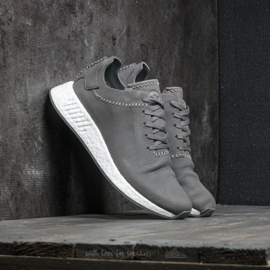 the best attitude 7c4e3 aaf63 adidas x Wings + Horns NMD R_2 Ash / Ash / Off White ...