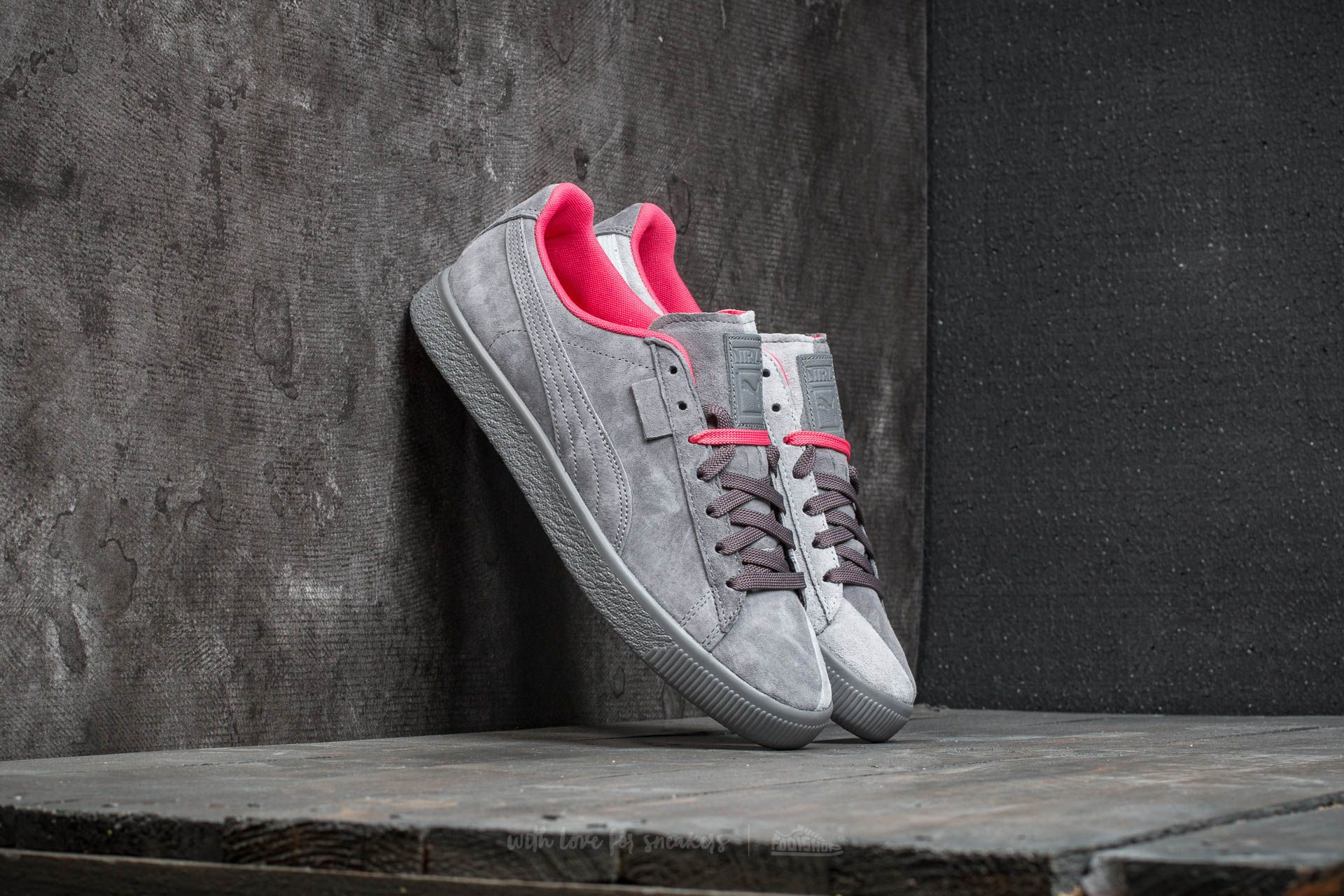 6be7322d22a3da Puma x Staple Clyde High Rise-Glacier Gray