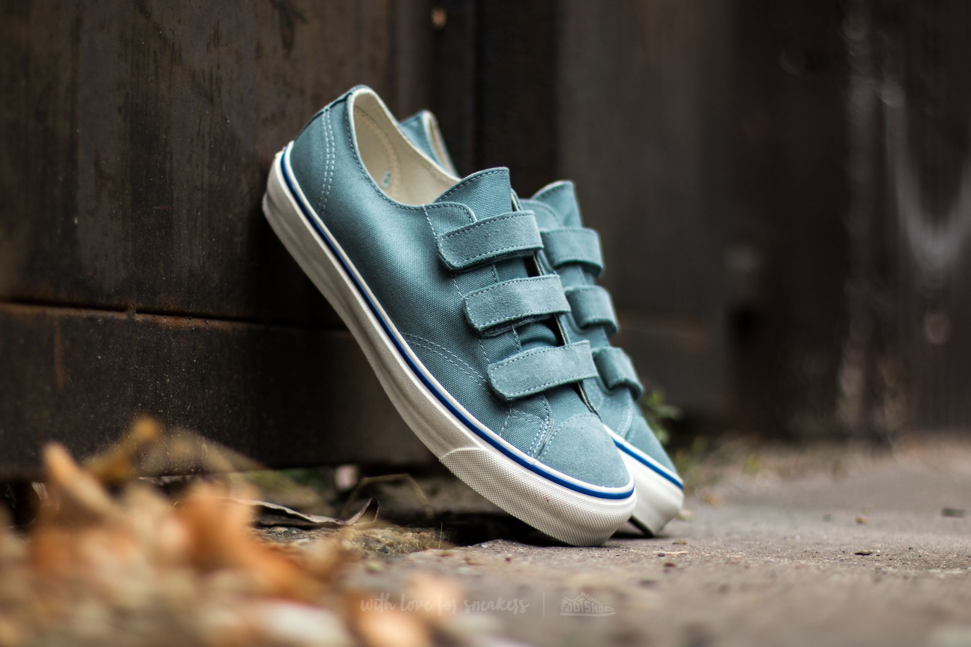 a2cacb320f1ee2 Vans OG Prison Issue LX (Suede  Canvas) Lead Blue