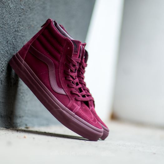 Vans Sk8 Hi Reissue Zip (Mono) Port Royale | Footshop