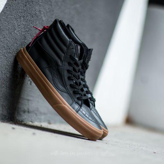 Vans Sk8 Hi Reissue Zip (Hiking)Black Gum