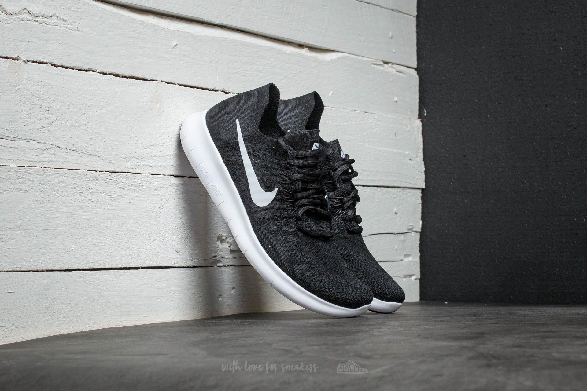 on sale b3764 400e5 Nike Free Run Flyknit 2017. Black  White- Anthracite