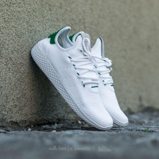 adidas x pharrell williams tennis hu white shoes