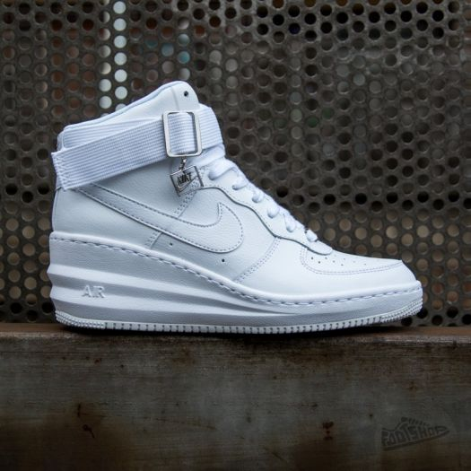 Nike Wmns Air Force 1 High White White White footshop.eu