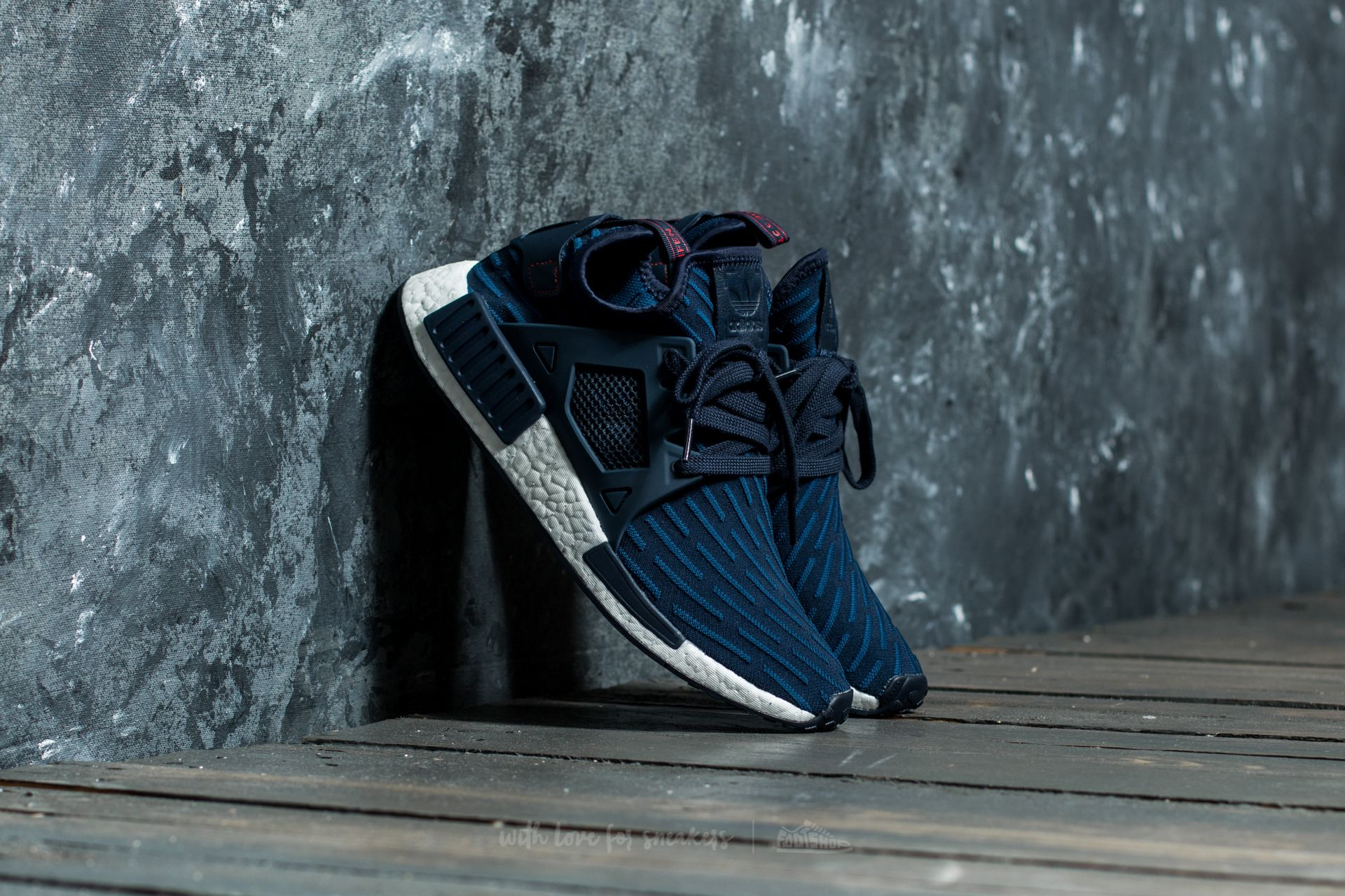 736fa16ef183d adidas NMD XR1 Primeknit Collegiate Navy  Core Red