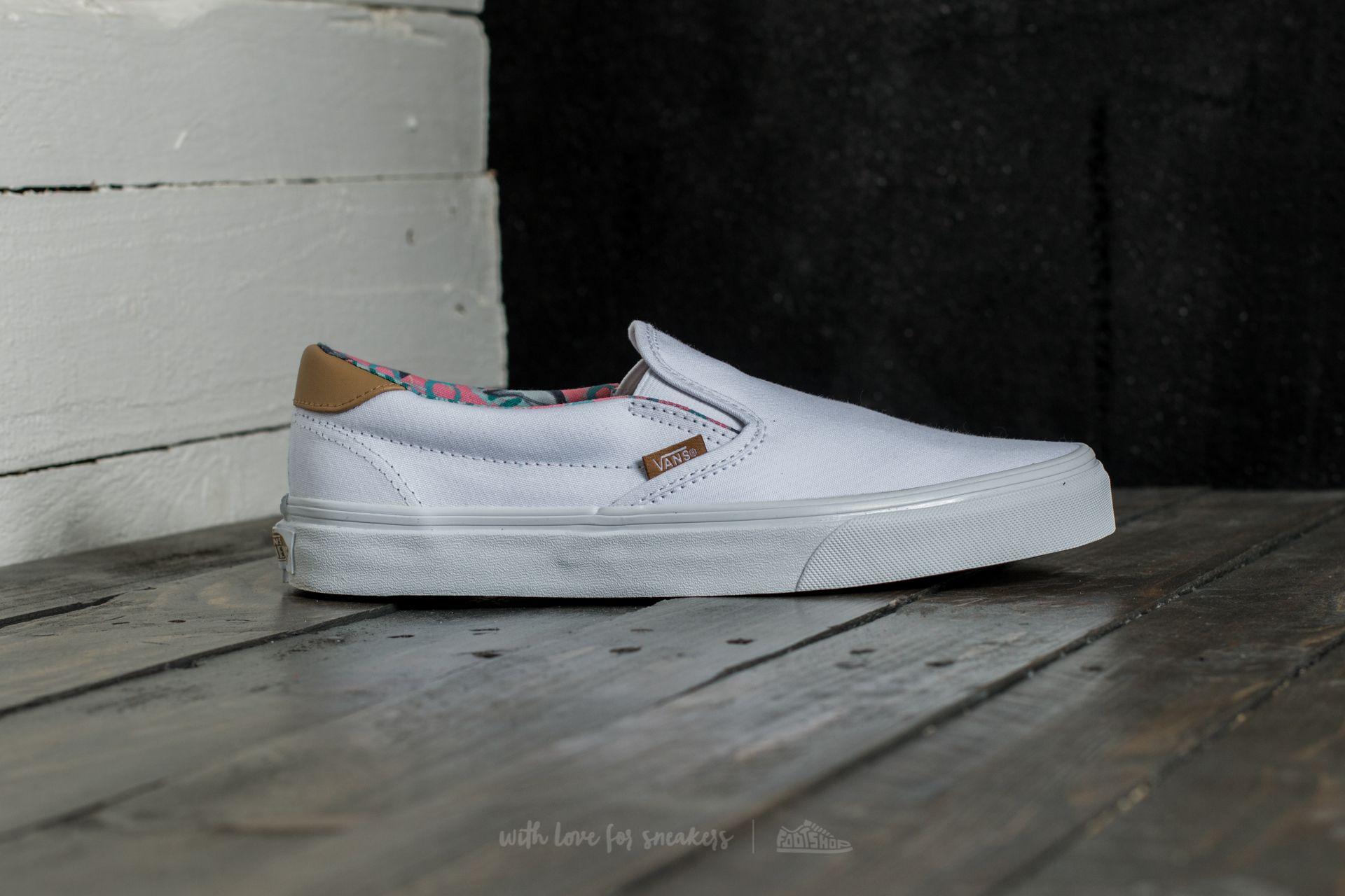 Vans Slip On 59 Schuhe (C&L) DolphinsTrue White