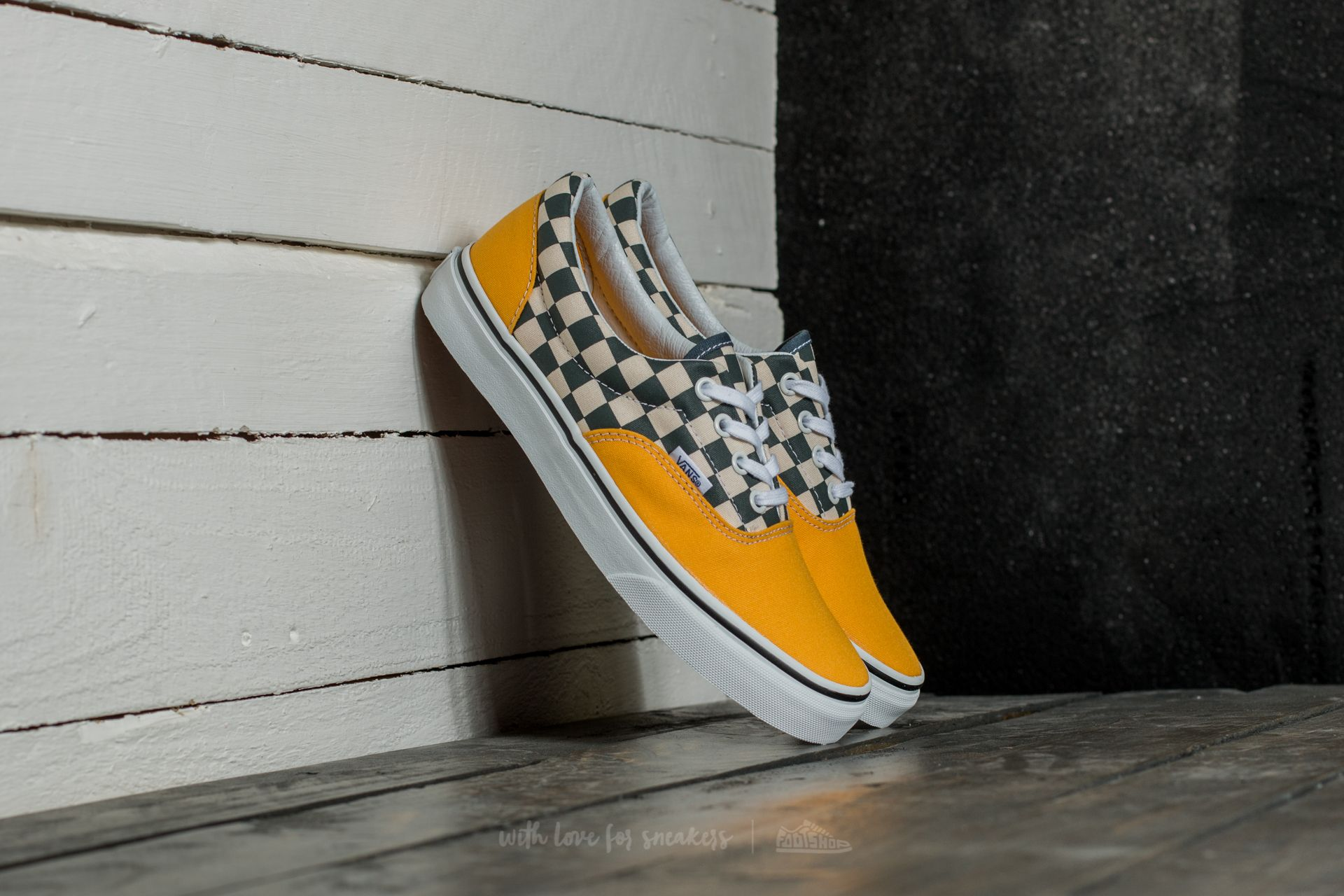 b594d0f07b Vans Era 2-Tone Check Citrus  True White