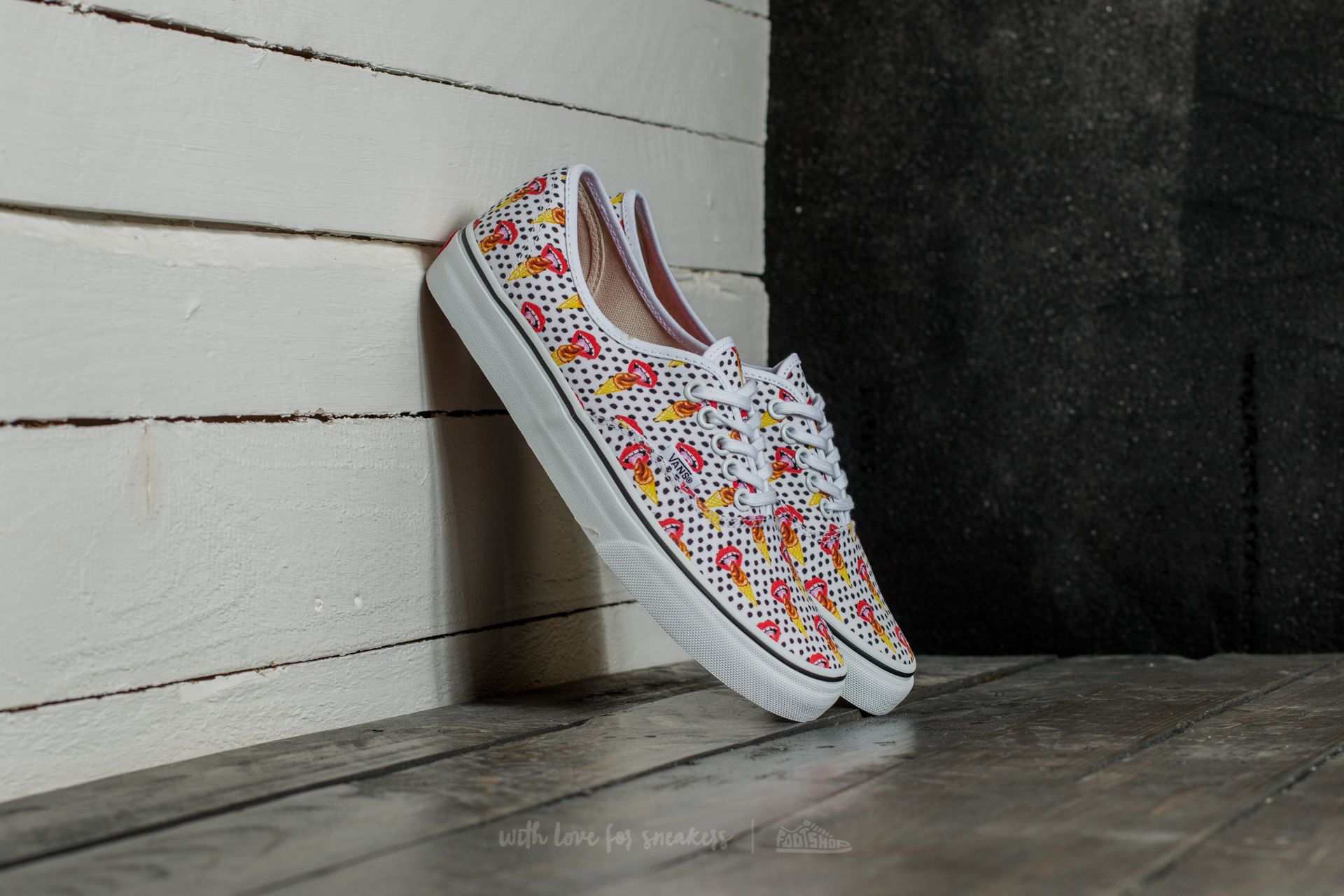 edce696e06 Vans x Kendra Dandy Aunthentic I Scream  True White