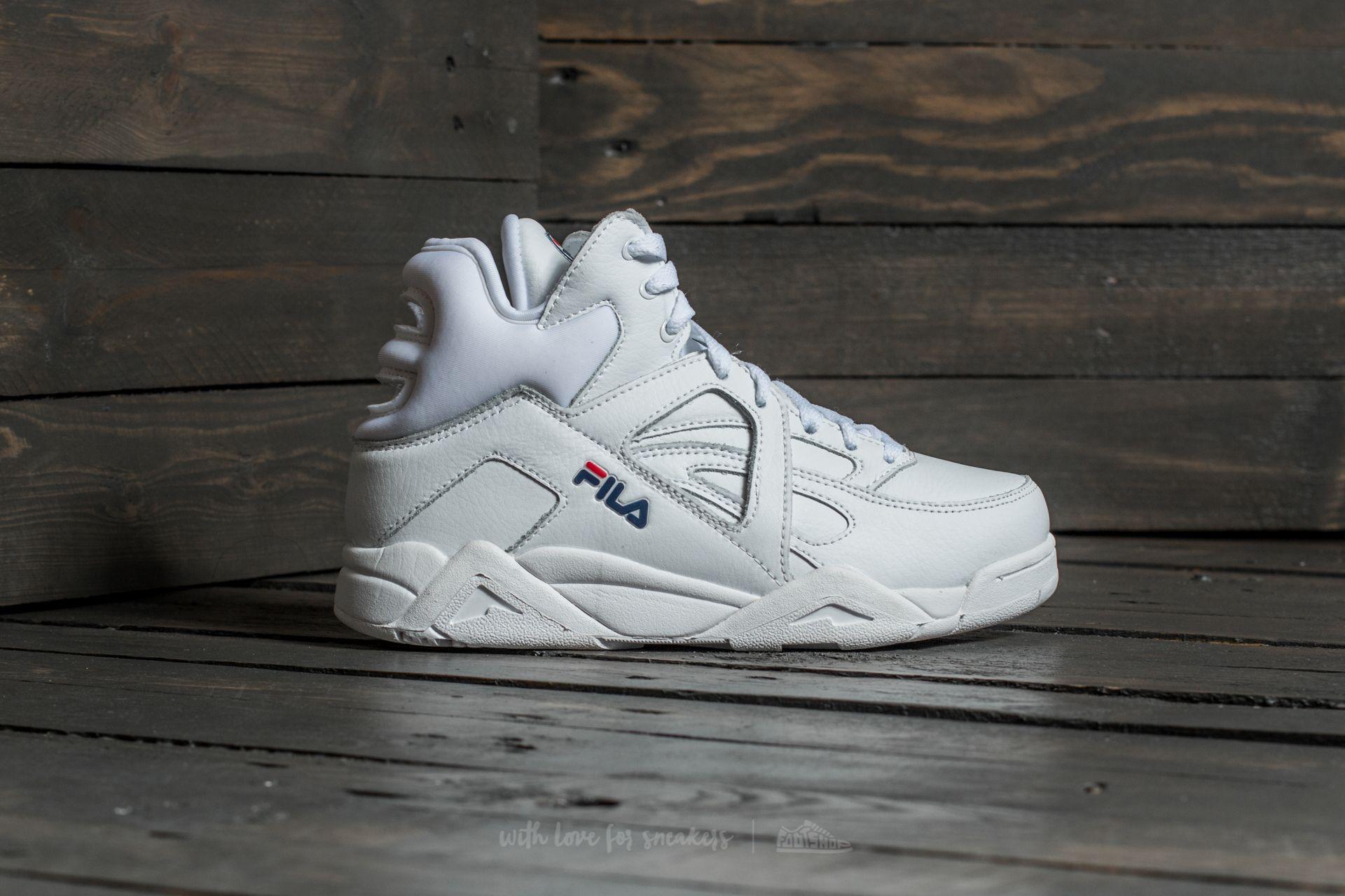 Men's shoes Fila Cage L Mid White