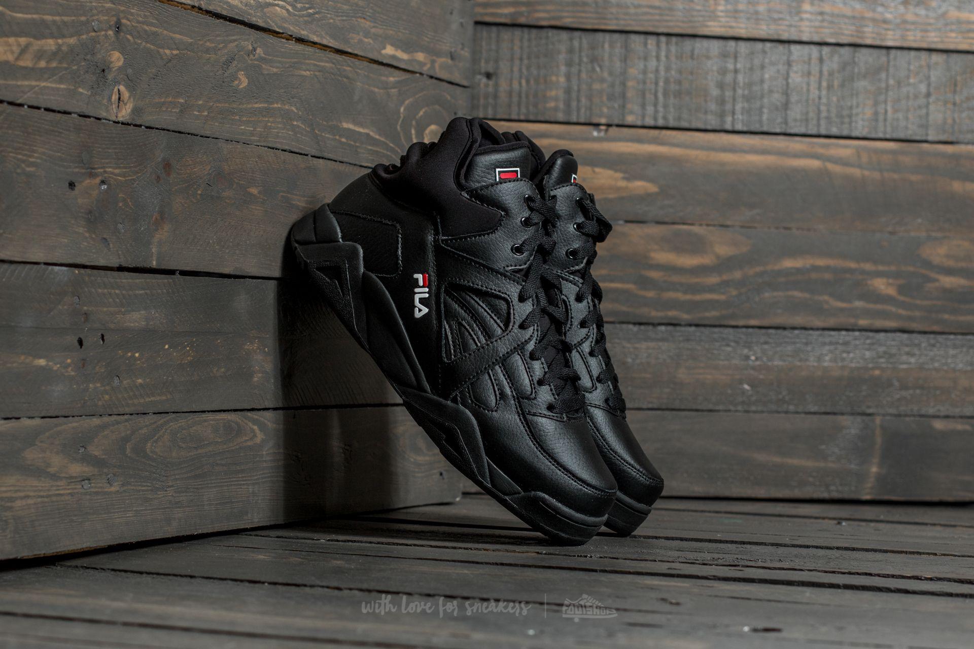 Fila Cage L Mid Black | Footshop