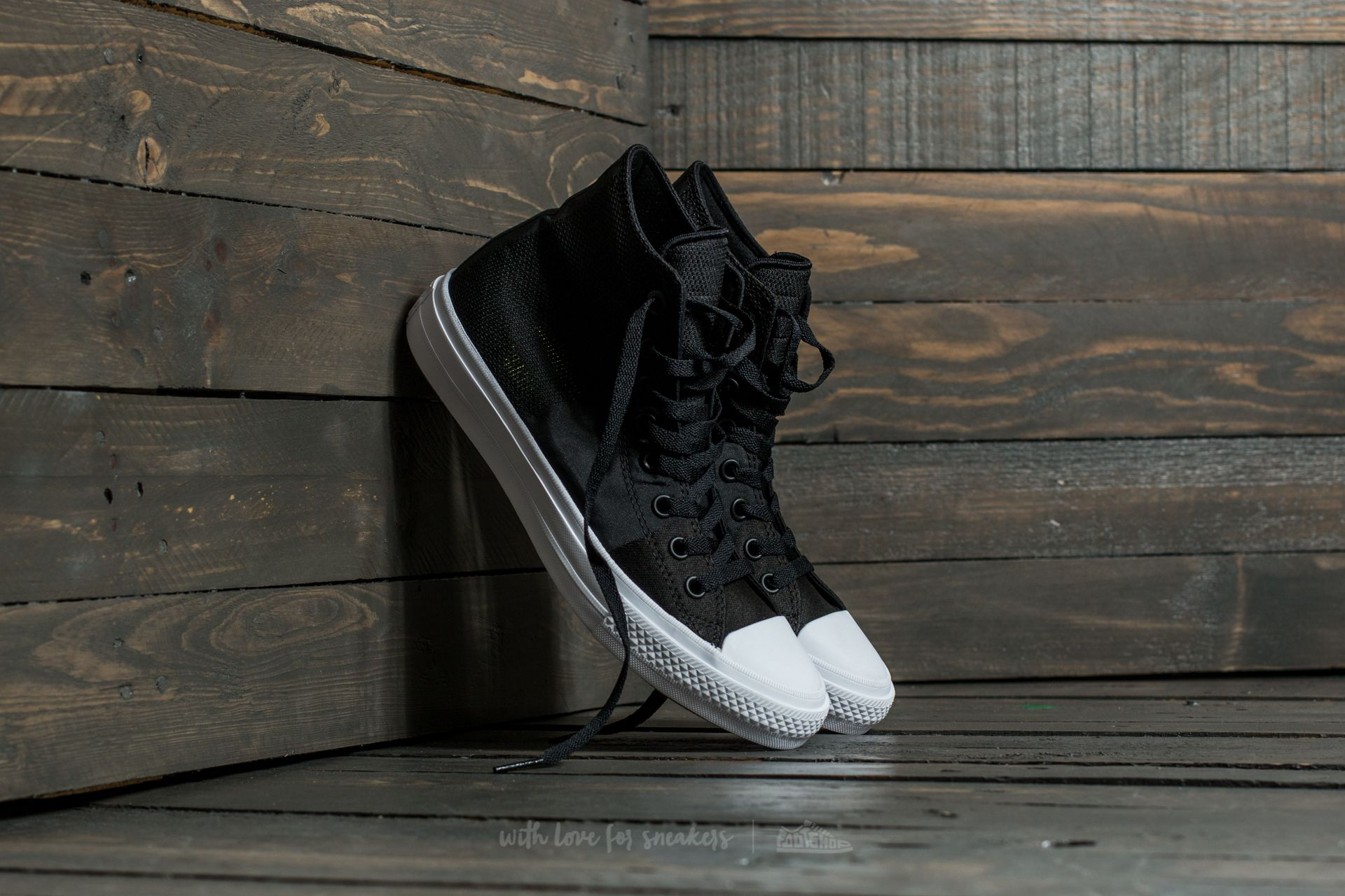 b071c3c8acb19 Converse Chuck Taylor All Star II Hi Black  Storm Wind  White