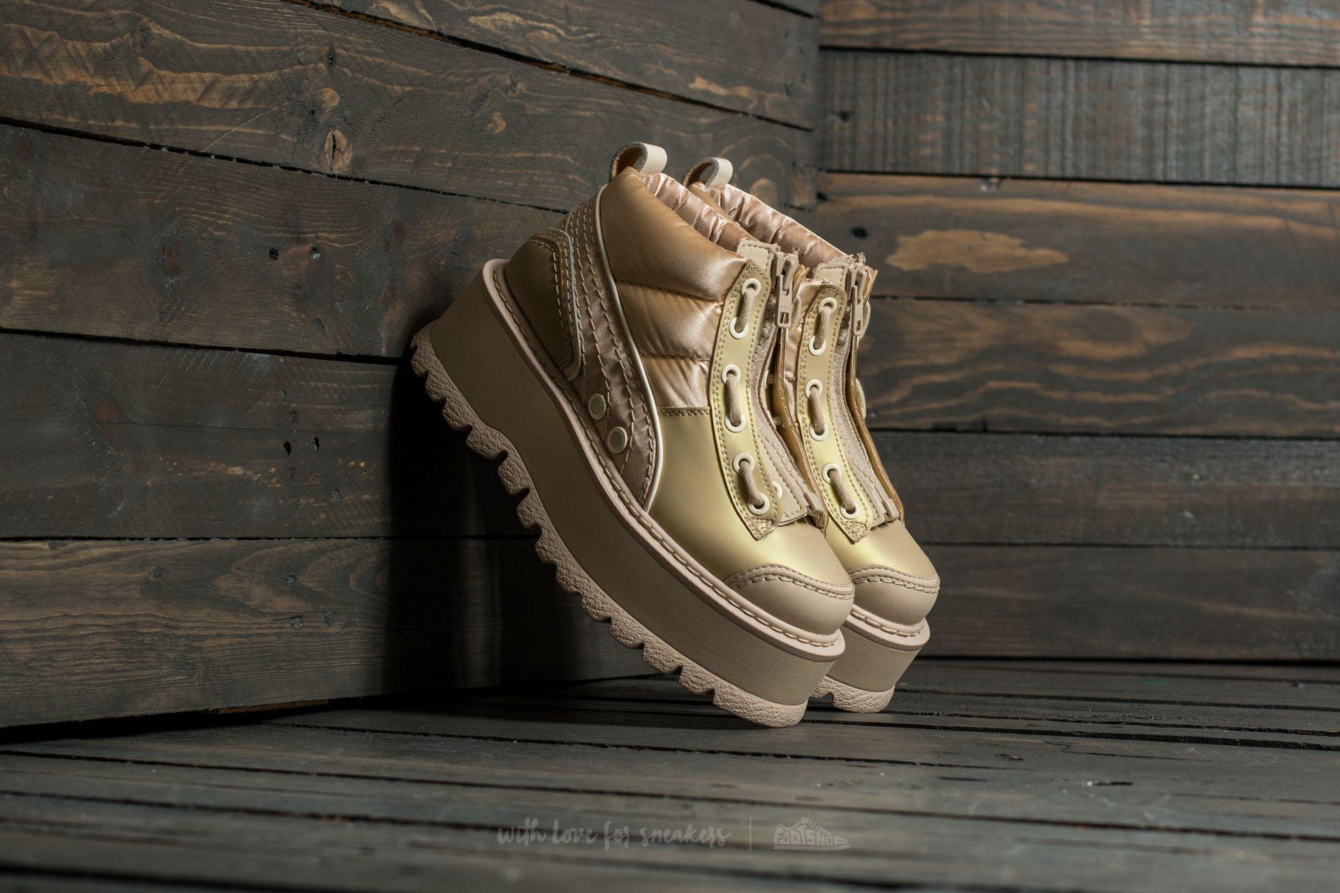 2c8cef5853b Puma FENTY Sneaker Boot Zip Wns Semolina-Smoke-Smoke ...