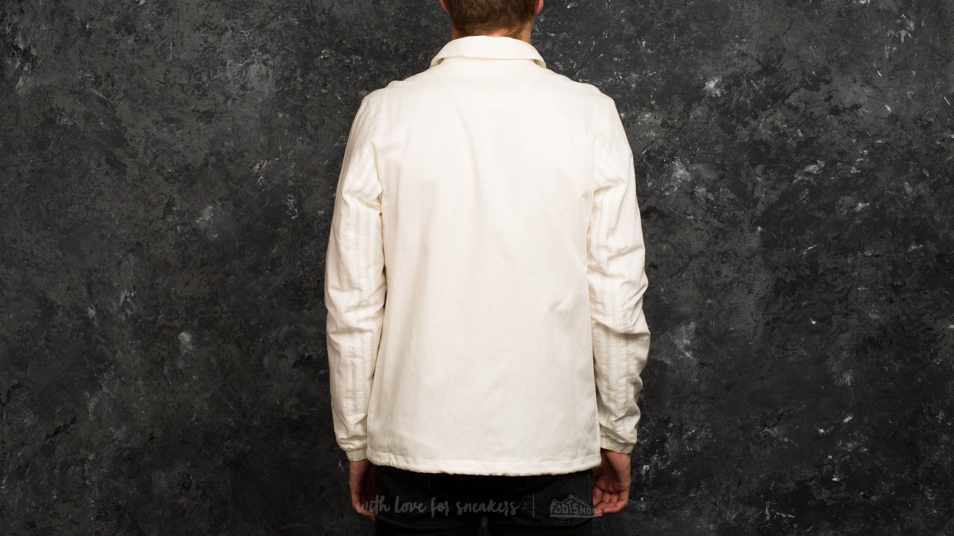 adidas Wings + Horns Coach Jacket Off White | Footshop
