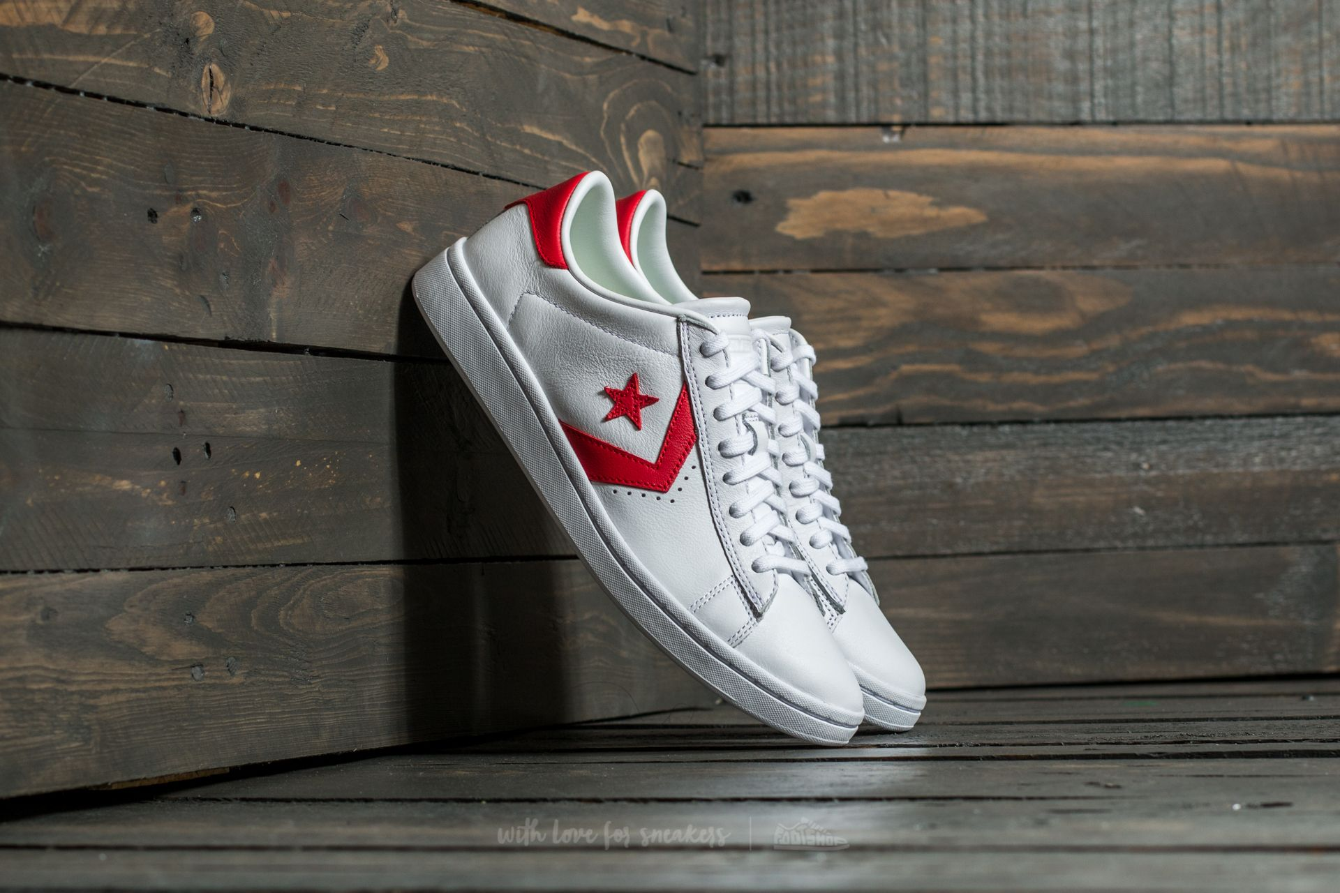 7ad42aaac5 Converse Pro Leather LP Ox White/ Casino/ White   Footshop