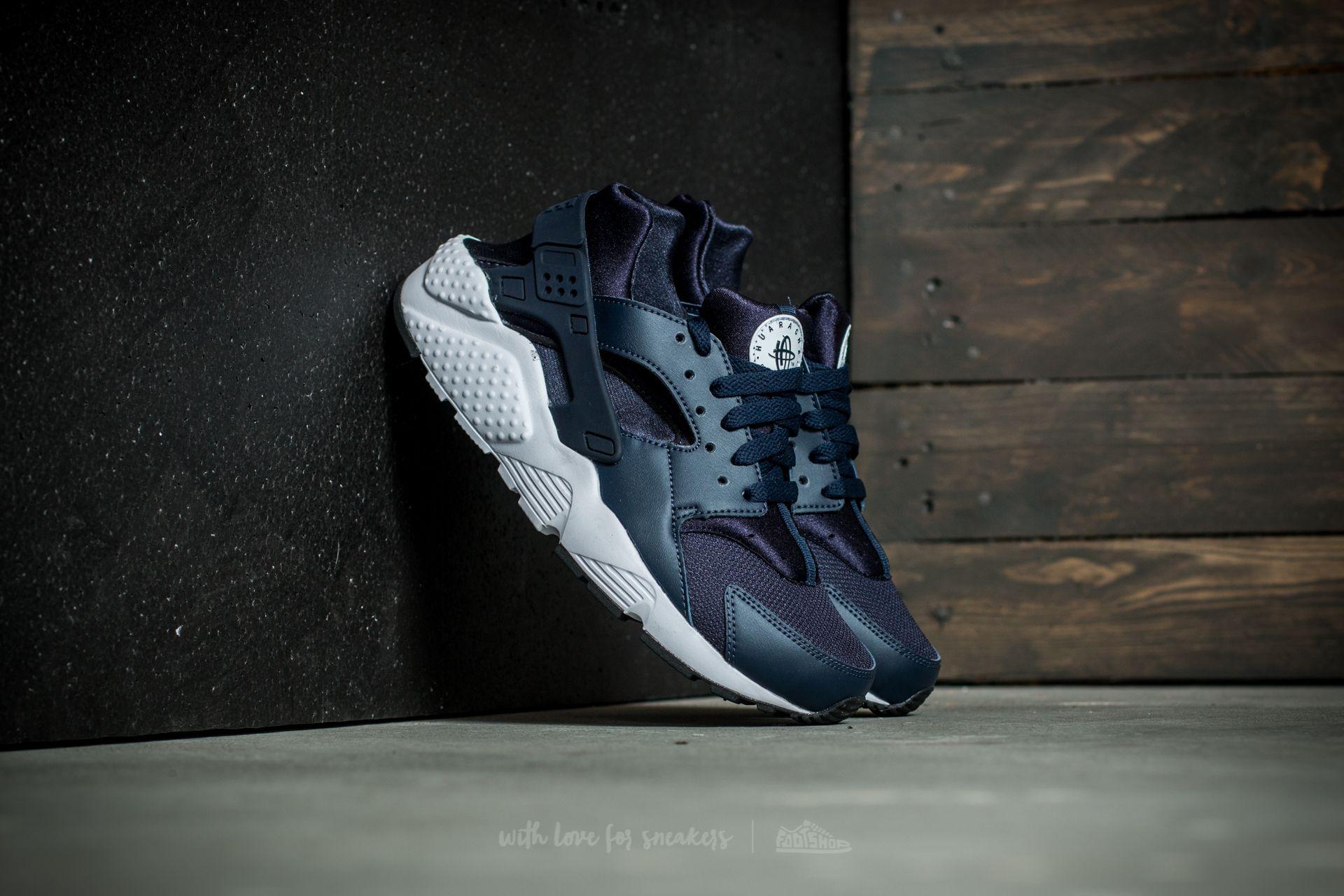 556dddd3c76e Nike Huarache Run (GS) Obsidian  Obsidian-Black-White