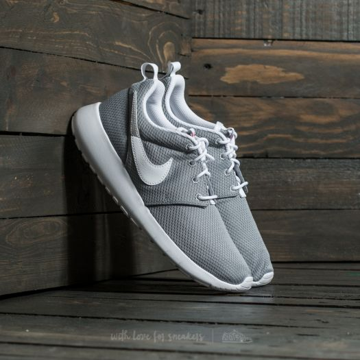 purchase cheap e9794 2bd58 Nike Roshe One (GS) Wolf Grey/ White-Safety Orange ...