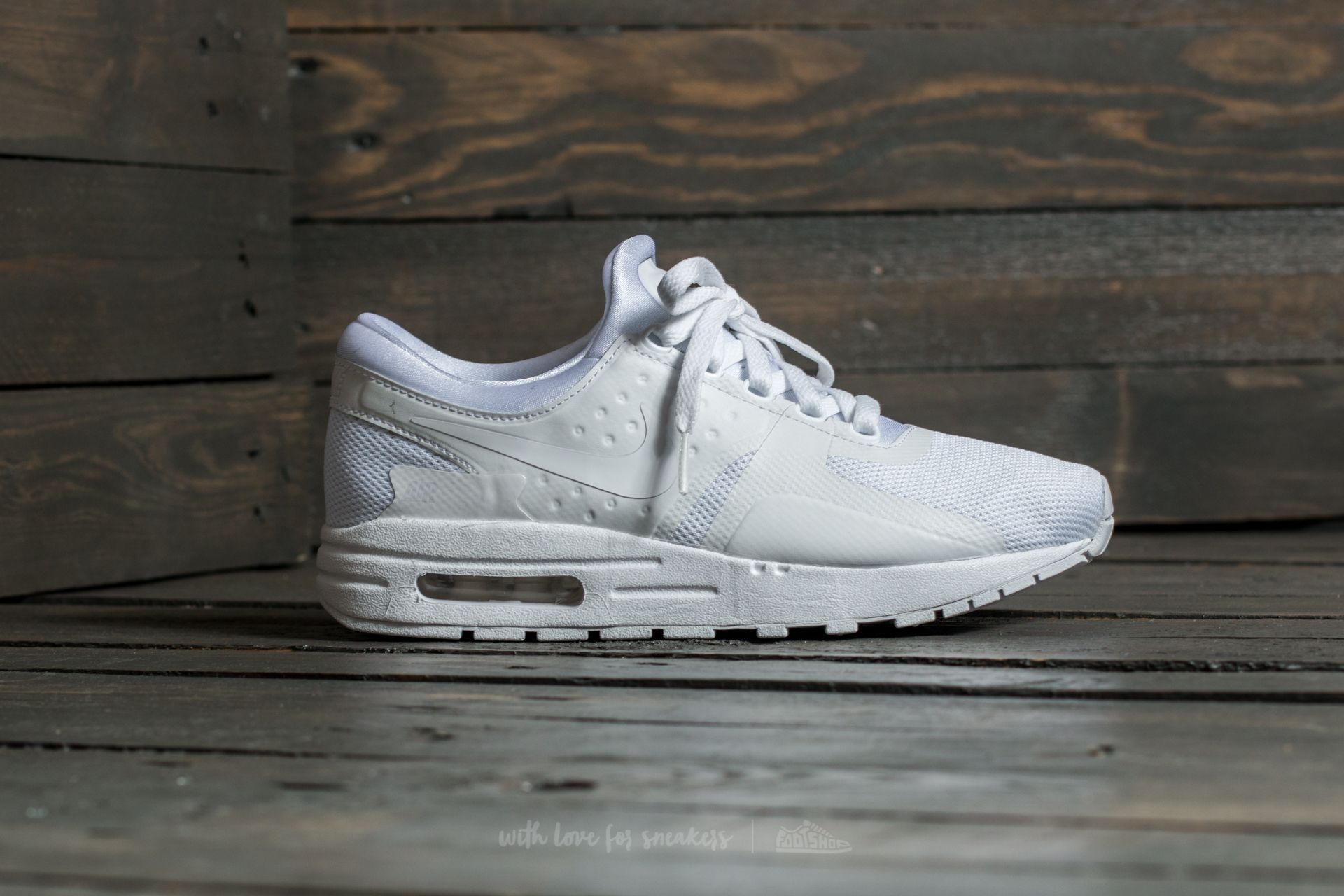 Nike Air Max Zero Essential GS White White Wolf Grey | Footshop