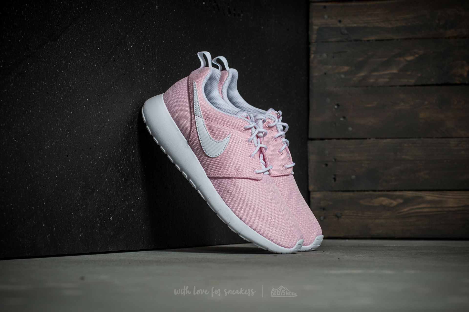 0fe9ace1dd815 shopping nike roshe one gs prism pink white safety orange 3bbbe aff7c