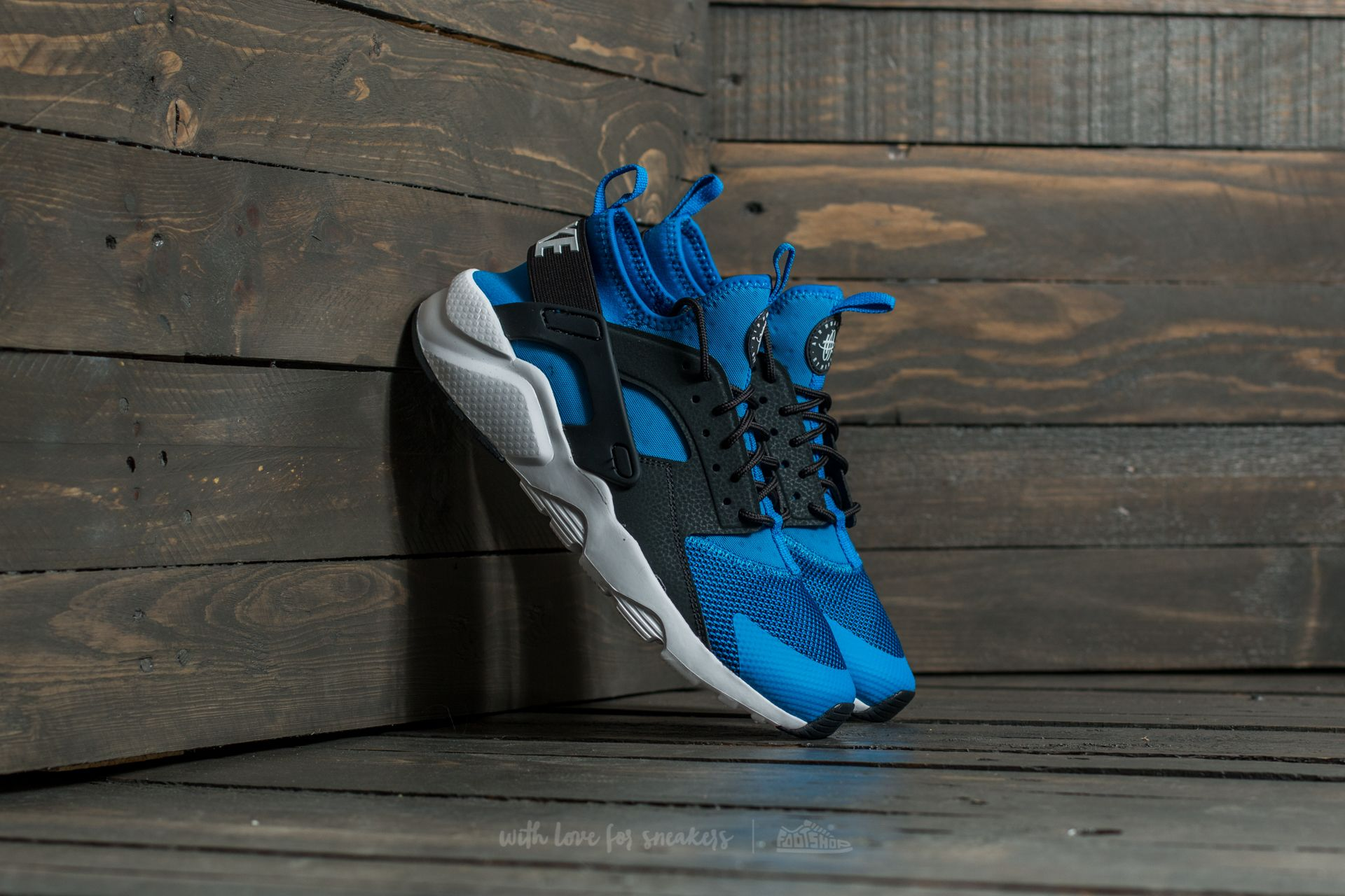 Nike Air Huarache Run Ultra (GS) Photo Blue/ Anthracite-White | Footshop
