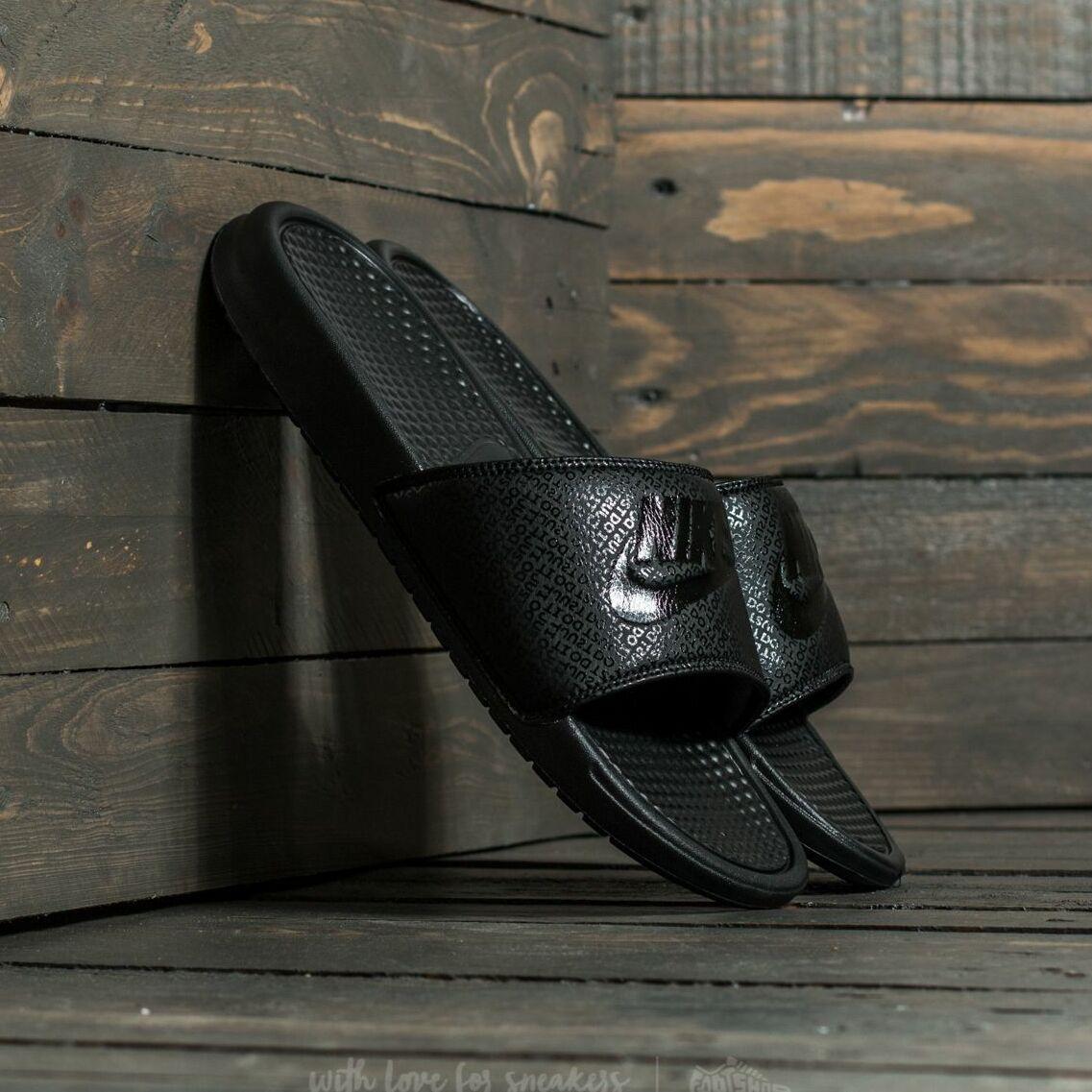 Nike Benassi Jdi Black/ Black-Black EUR 42.5
