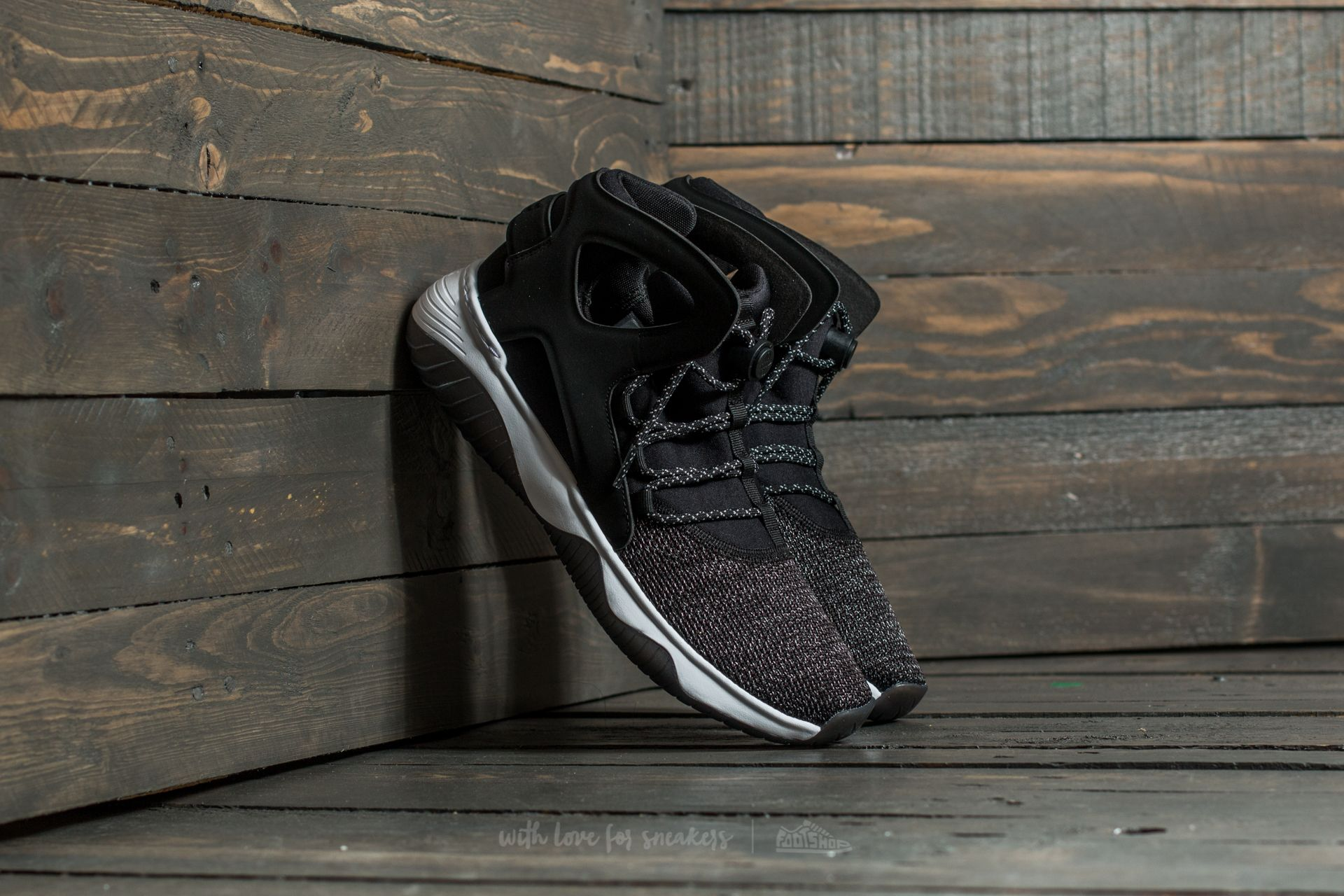 best sneakers 93fe5 a7f9a Nike Air Flight Huarache Ultra. Black  Black-White-Volt