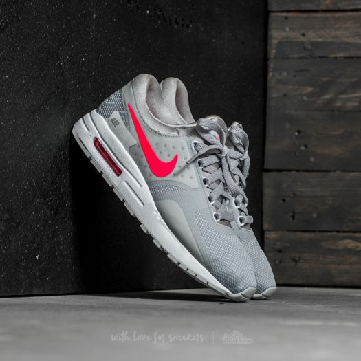 Nike Air Max Zero Essential GS Wolf Grey  Racer Pink-White  e92d6357e