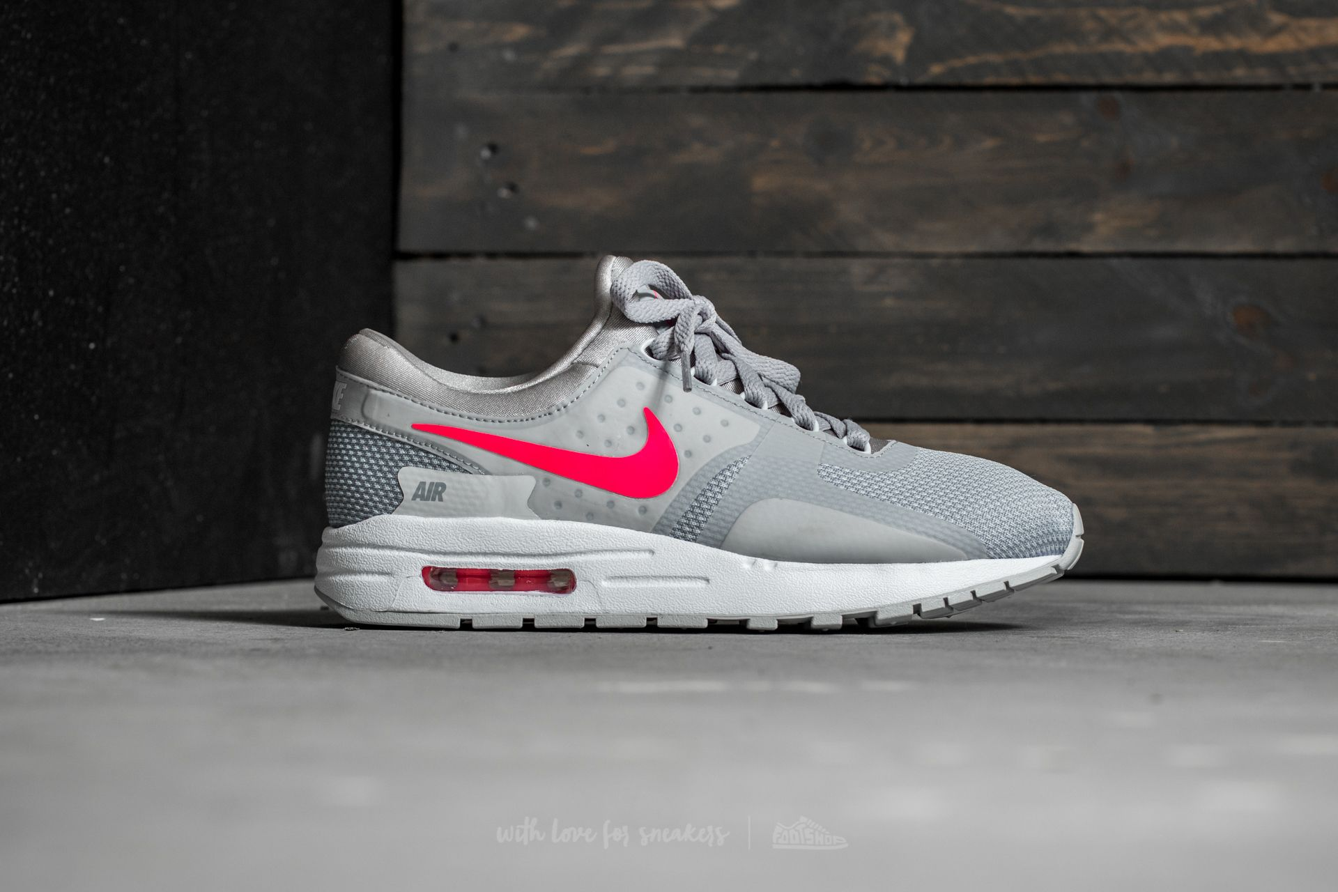 a9a680467c ... best nike air max zero essential gs wolf grey racer pink white at a  great 45865