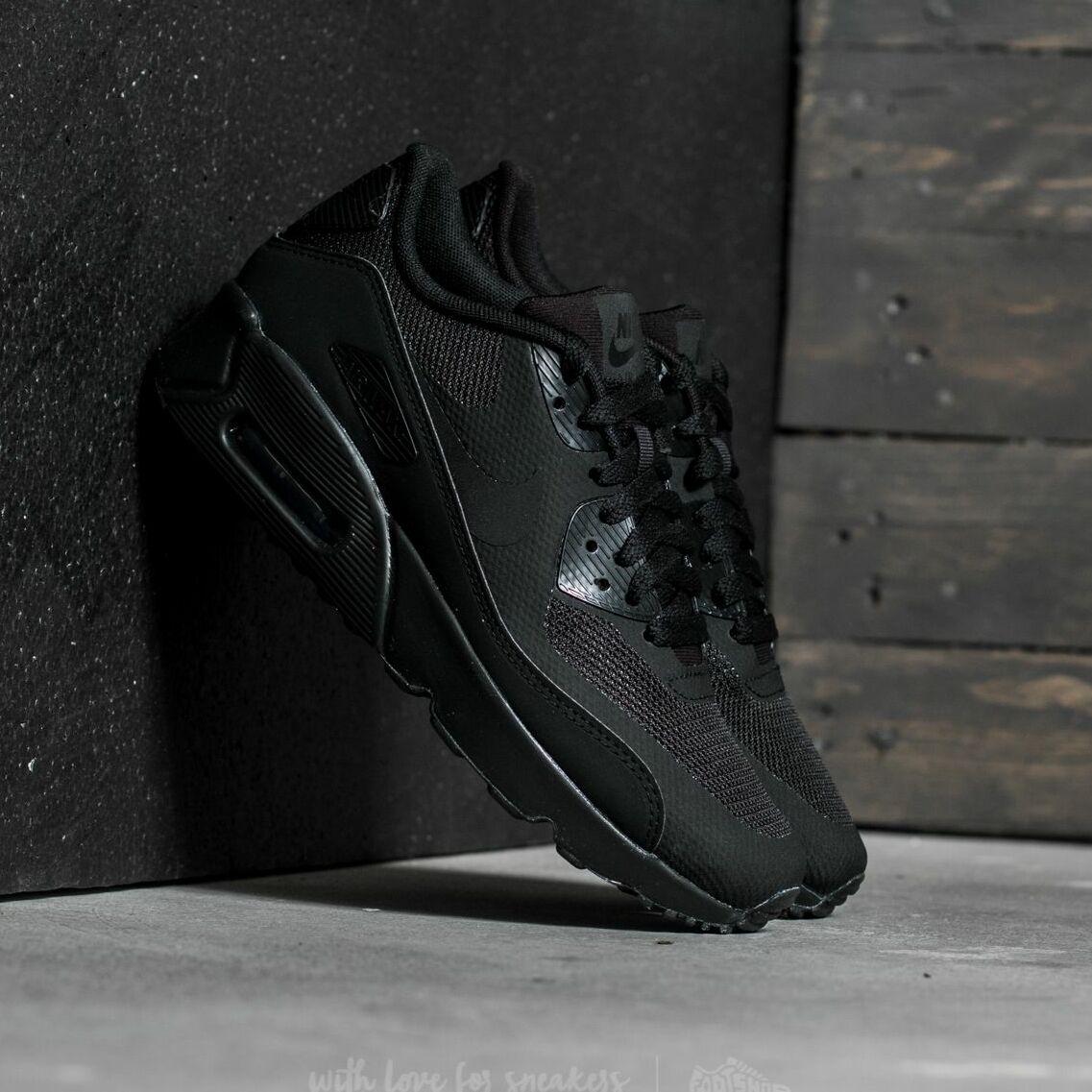 Nike Air Max 90 Ultra 2.0 (GS) Black/ Black-Black EUR 38