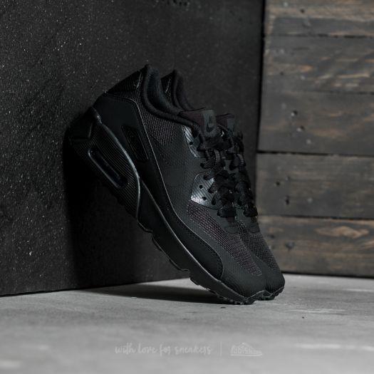 Nike Air Max 90 Ultra Flyknit Black Black Metallic Gold Star