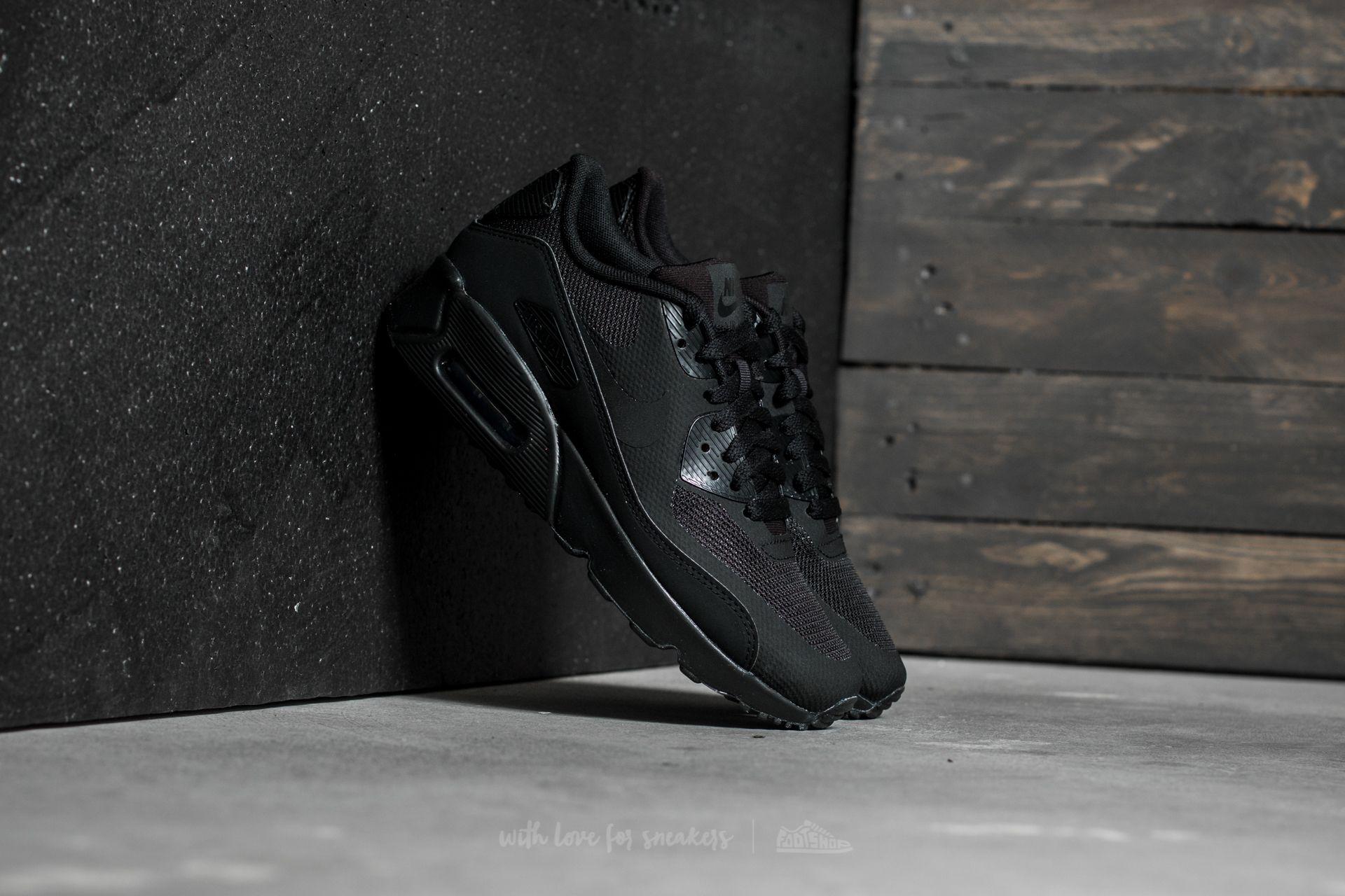 Nike Air Max 90 Ultra 2.0 (GS) Black/ Black-Black | Footshop