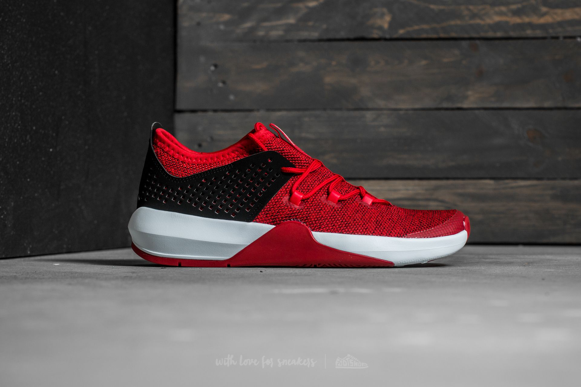 Jordan Express Gym Red White Black | Footshop