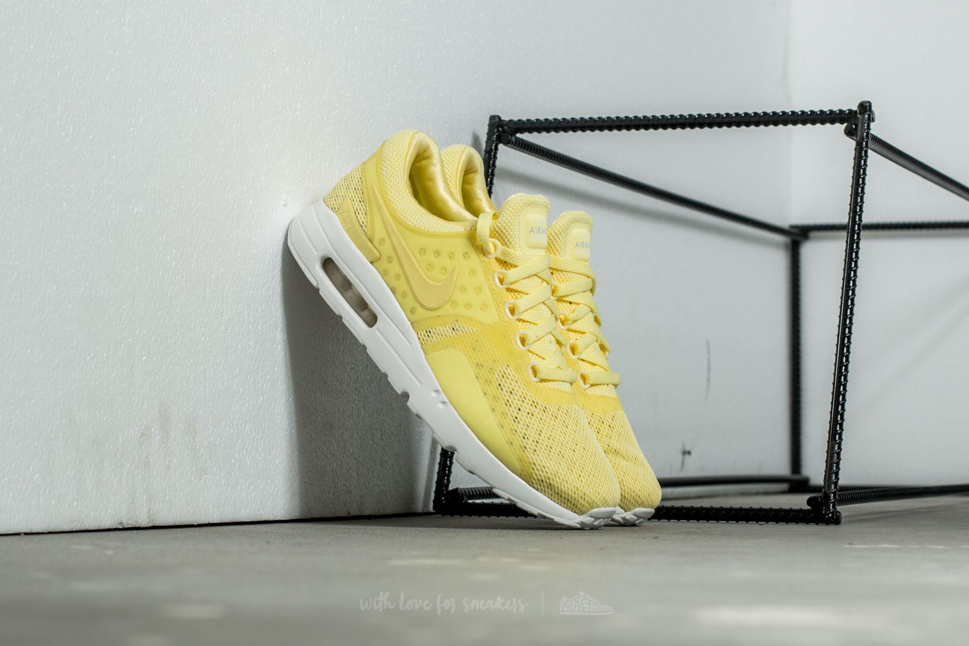 b6c2ecf00da Nike Air Max Zero BR Lemon Chiffon  Lemon Chiffon