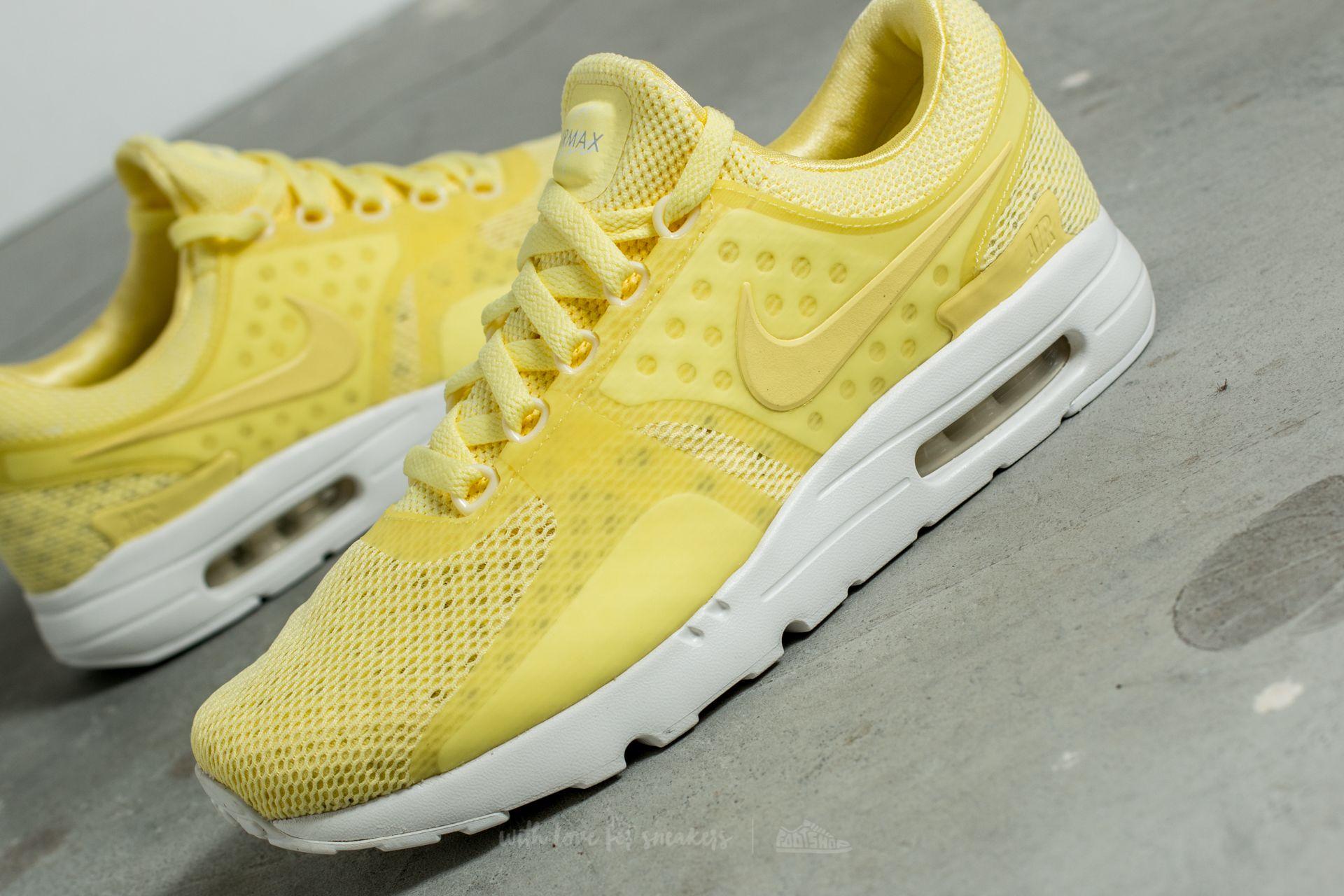 more photos c2470 7ec91 Nike Air Max Zero BR Lemon Chiffon/ Lemon Chiffon | Footshop
