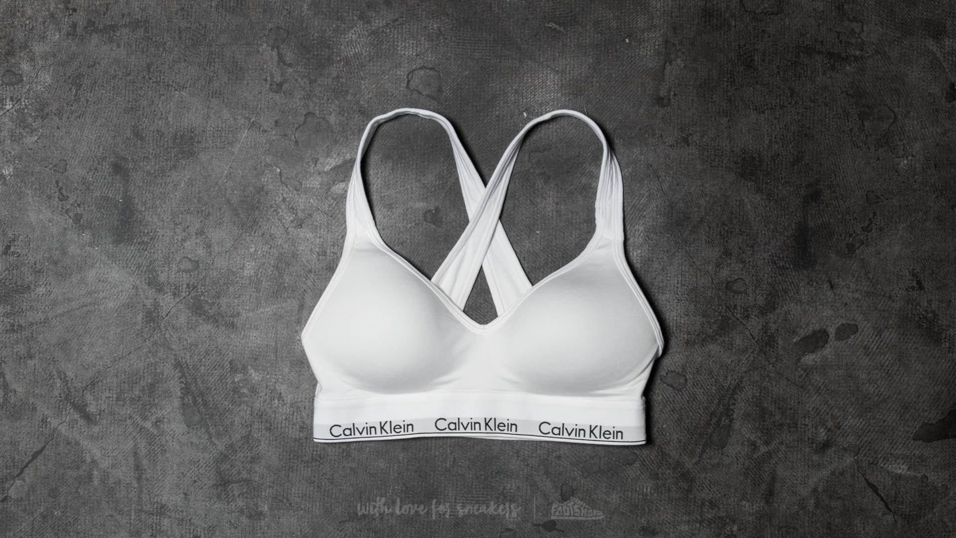 Calvin Klein Lift Bralette White