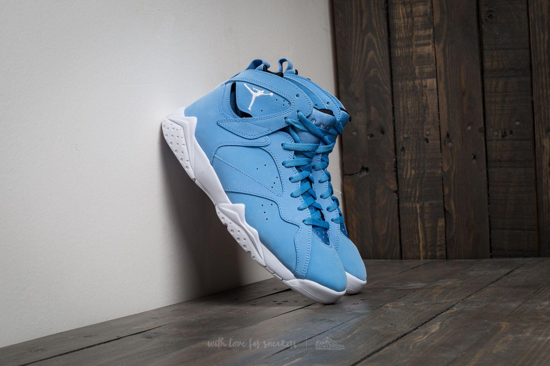 7d5ea1e226f1 Air Jordan 7 Retro University Blue  White-white