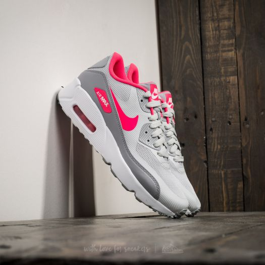 Nike Air Max 90 Leather (GS) Kinder Sneaker Pure Platinum