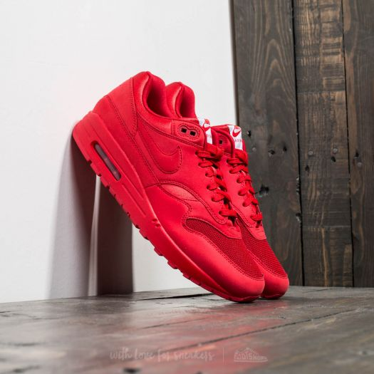 Sneakers buty Nike Air Max 1 Premium university red