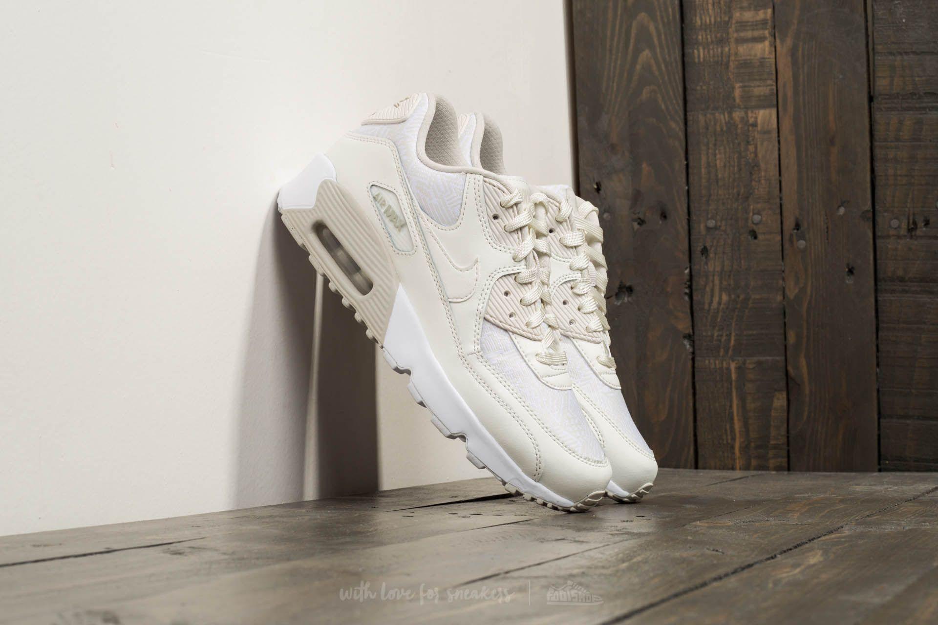 Nike Air Max 90 SE Mesh (GS) Summit White Summit White   Footshop