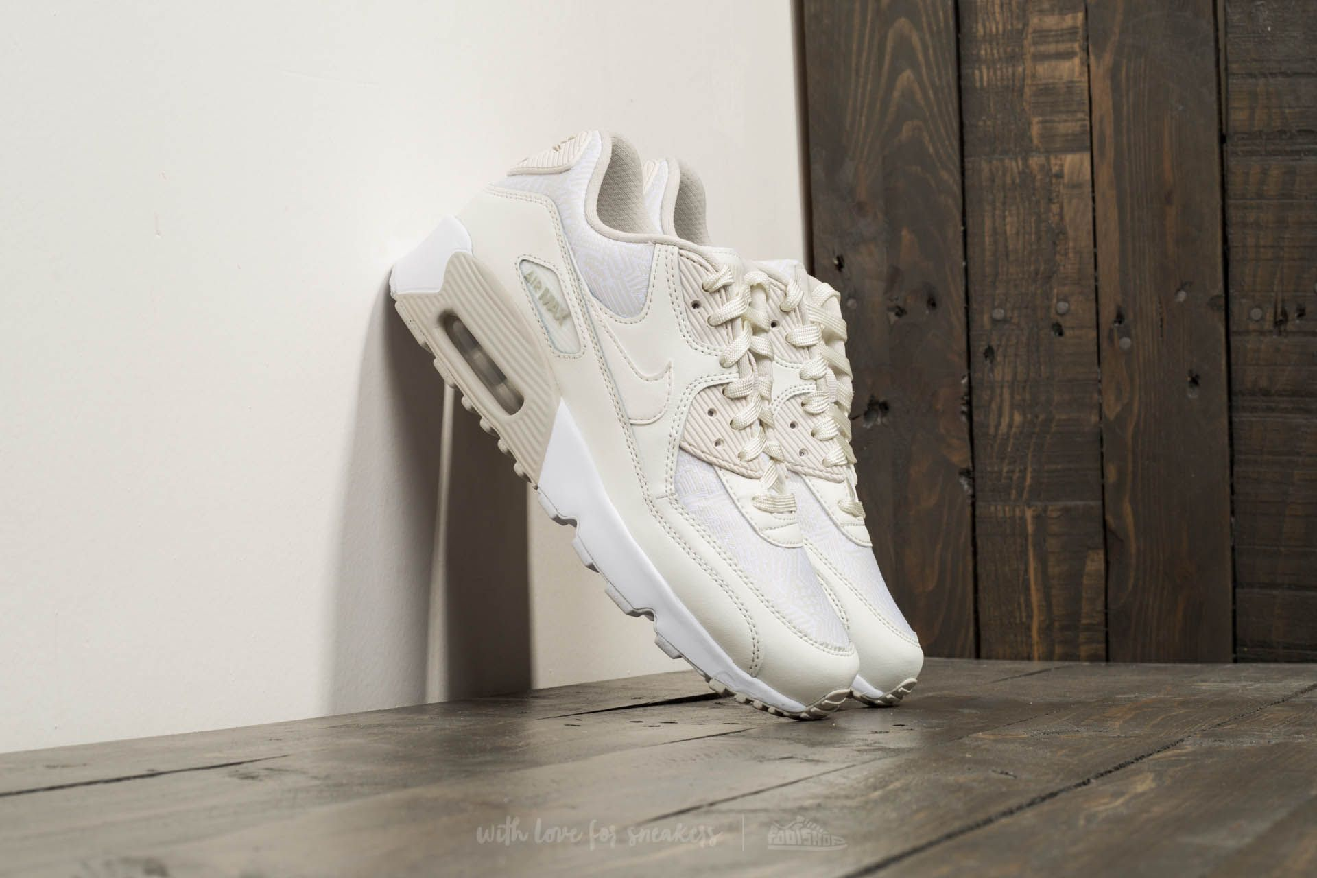 Nike Air Max 90 SE Mesh (GS) Summit White Summit White | Footshop