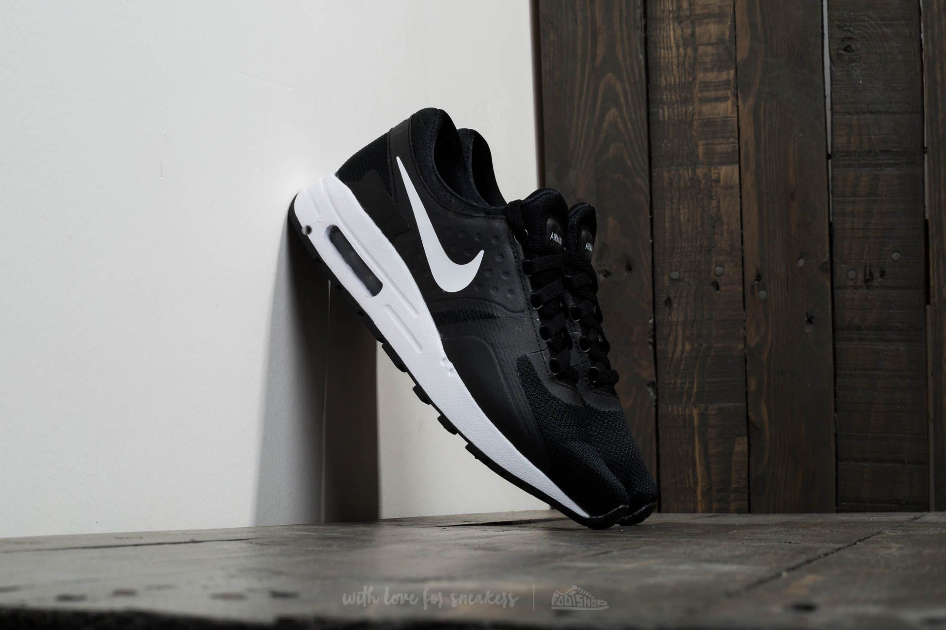 Nike Air Max Zero Essential GS Black White Dark Grey