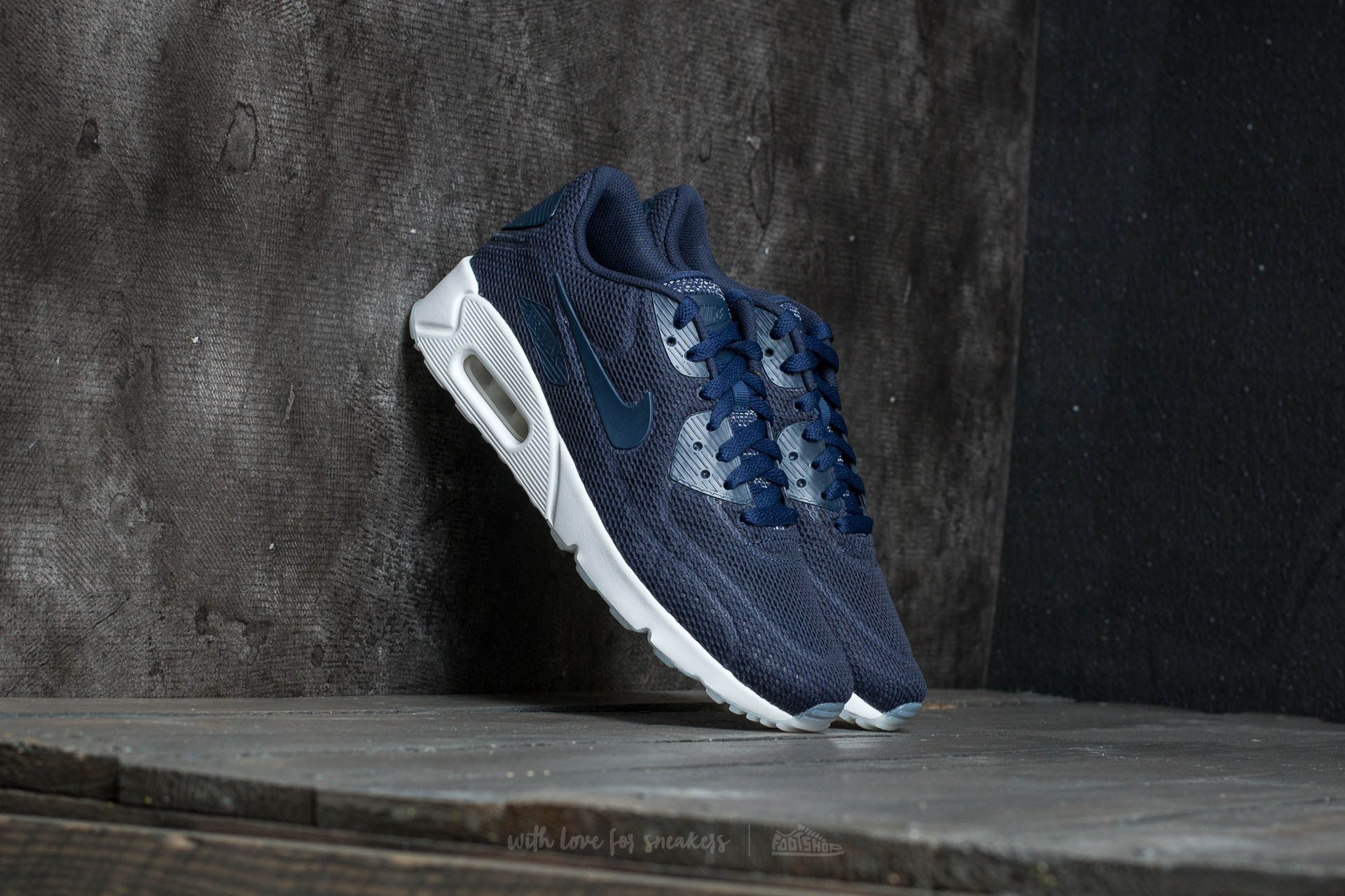 ae56168c1265 Nike Air Max 90 Ultra 2.0 BR Midnight Navy  Midnight Navy
