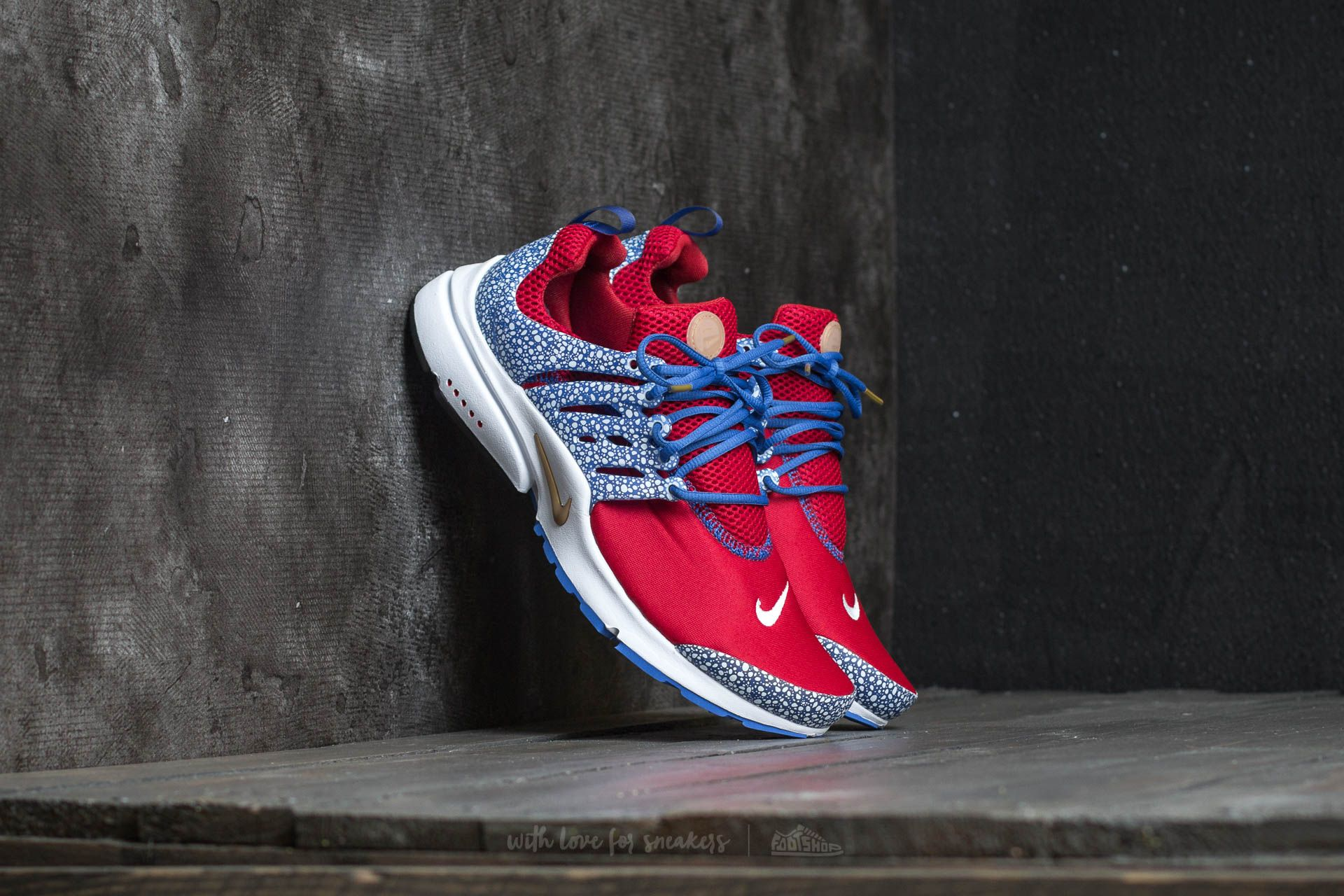 newest collection cfb78 f7afb Nike Air Presto QS. Gym Red  Racer Blue-White