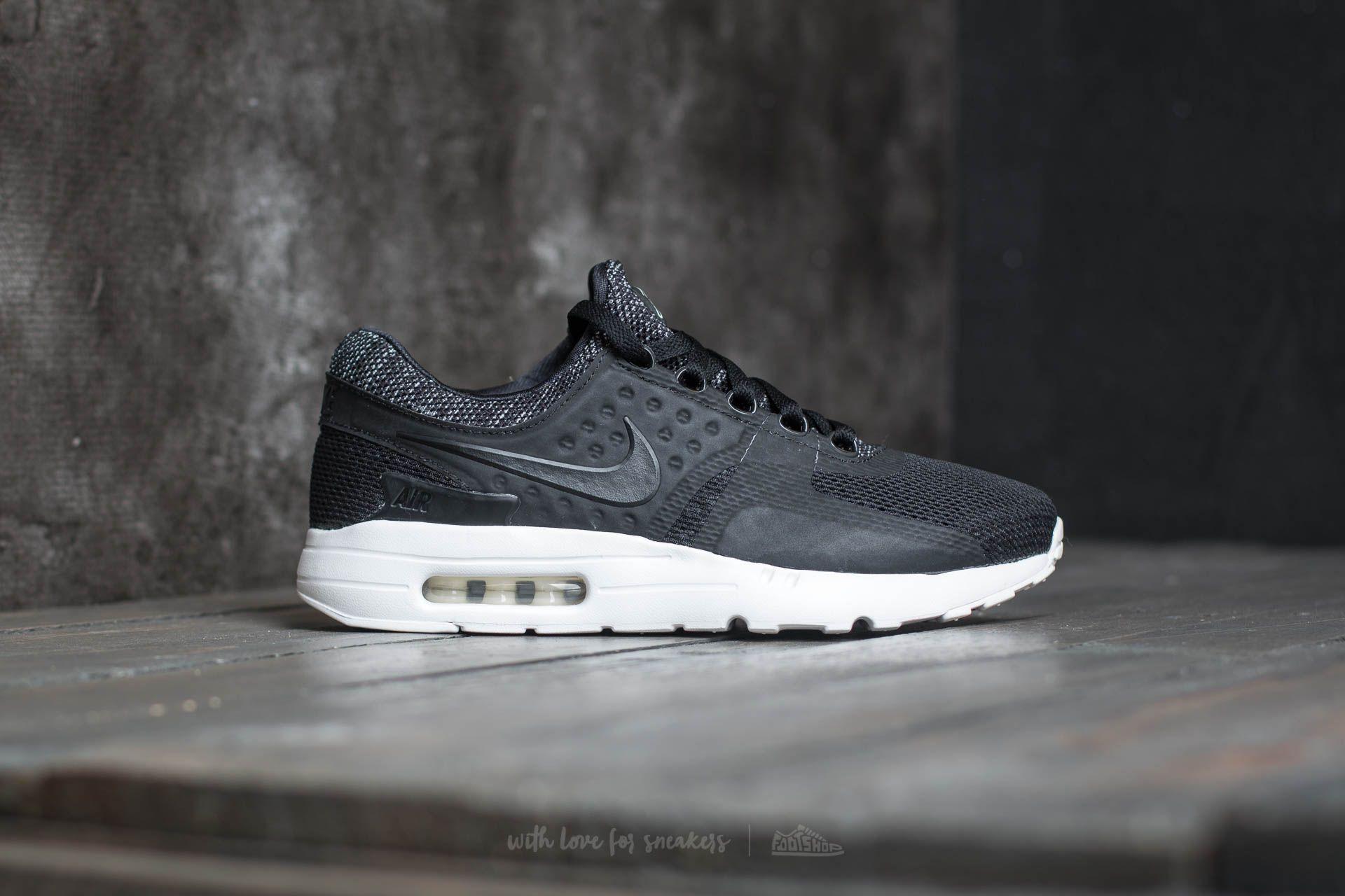 official photos 82d91 7c971 Nike Air Max Zero BR Black/ Black-Pale Grey | Footshop