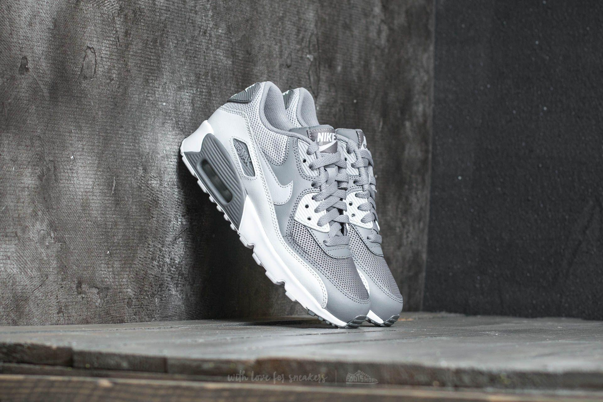 Nike Air Max 90 Mesh (GS) Cool Grey Wolf Grey | Footshop