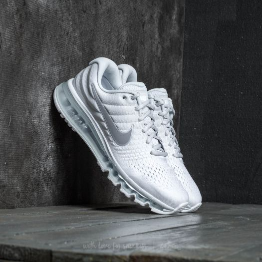 Nike Air Max 2017 Pure Platinum/ Wolf Grey-White