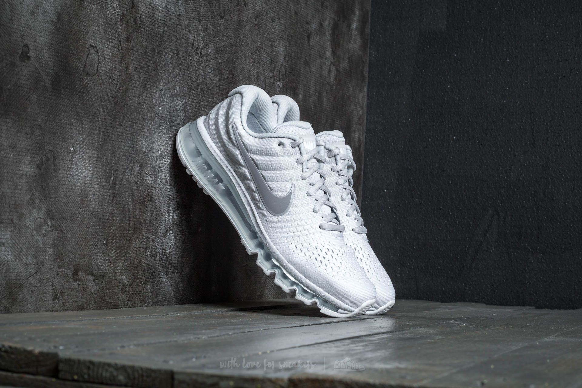 innovative design 7a8a5 838dc Nike Air Max 2017. Pure Platinum  Wolf Grey-White