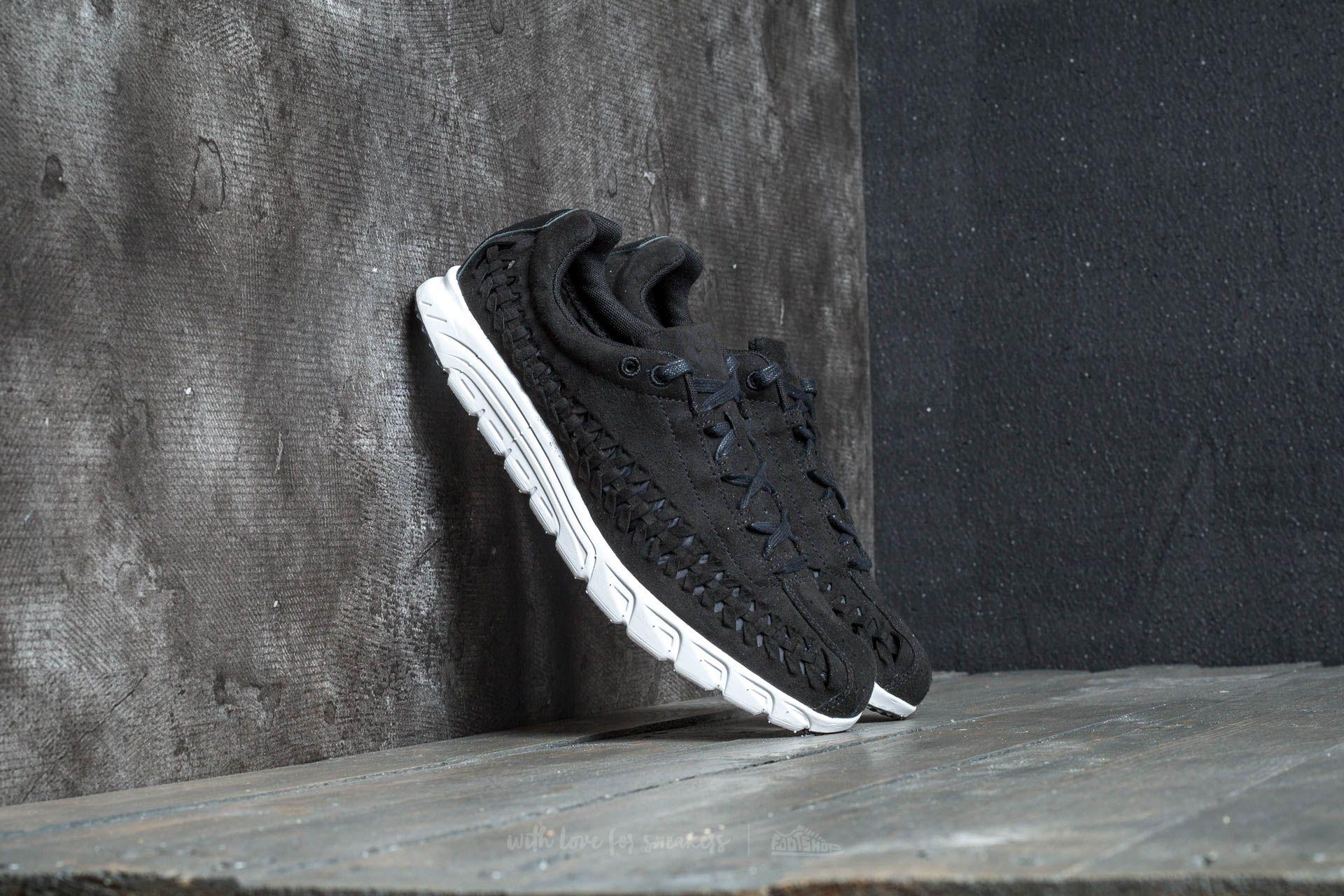Nike Mayfly Woven Black  Black-Summit White  7c66af369